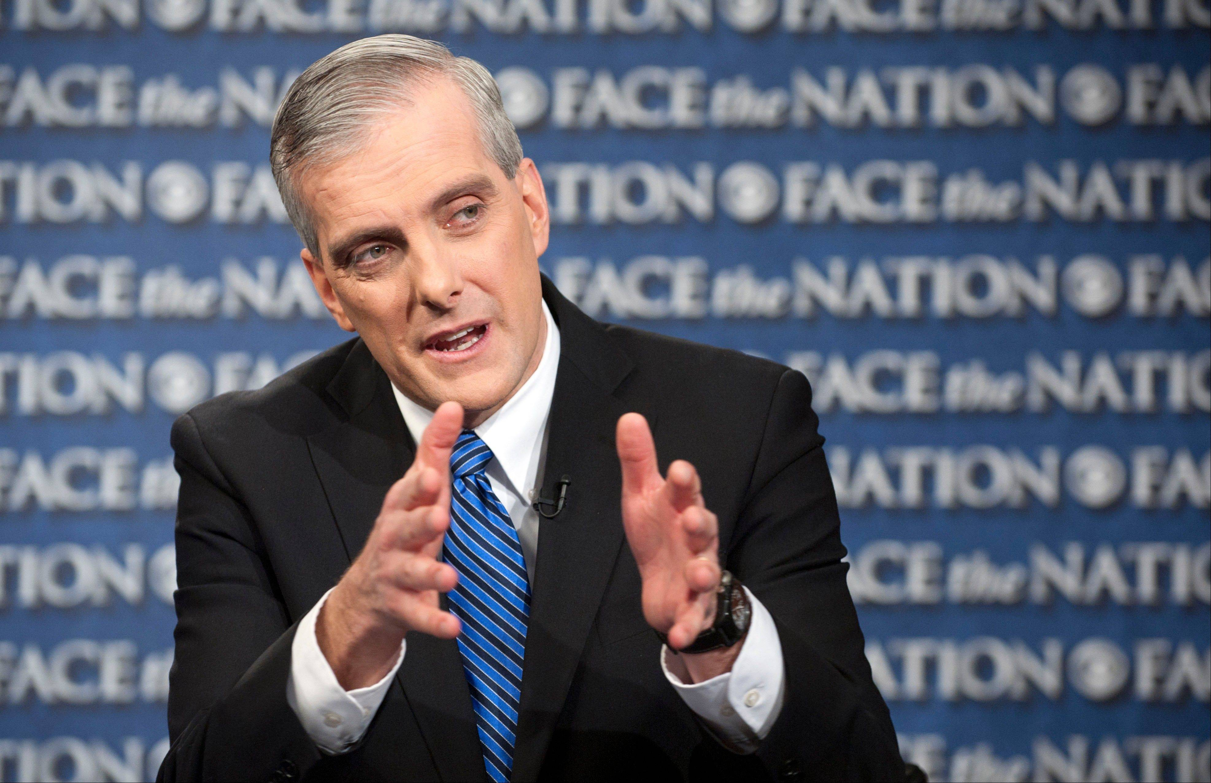 "New White House Chief or Staff Denis McDonough, speaking on CBS's ""Face the Nation"" Sunday, said President Barack Obama is concerned about the effect the automatic budget cuts, scheduled for next month, will have on America's middle class."