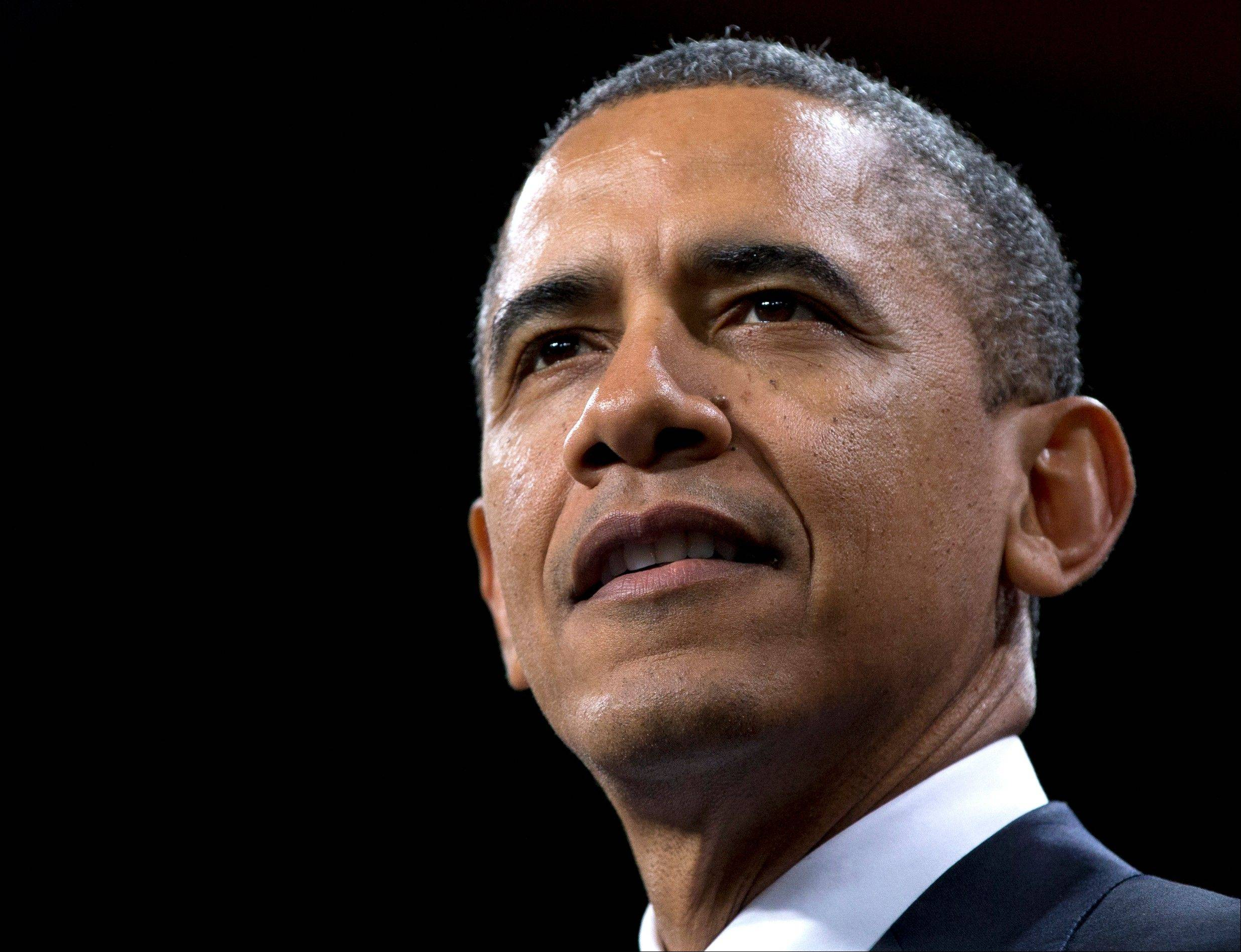 President Barack Obama speaks about immigration in Las Vegas on Jan. 29. The White House is circulating a draft immigration bill that would create a new visa for illegal immigrants living in the United States and allow them to become legal permanent residents within eight years, according to a report published online Saturday by USA Today.