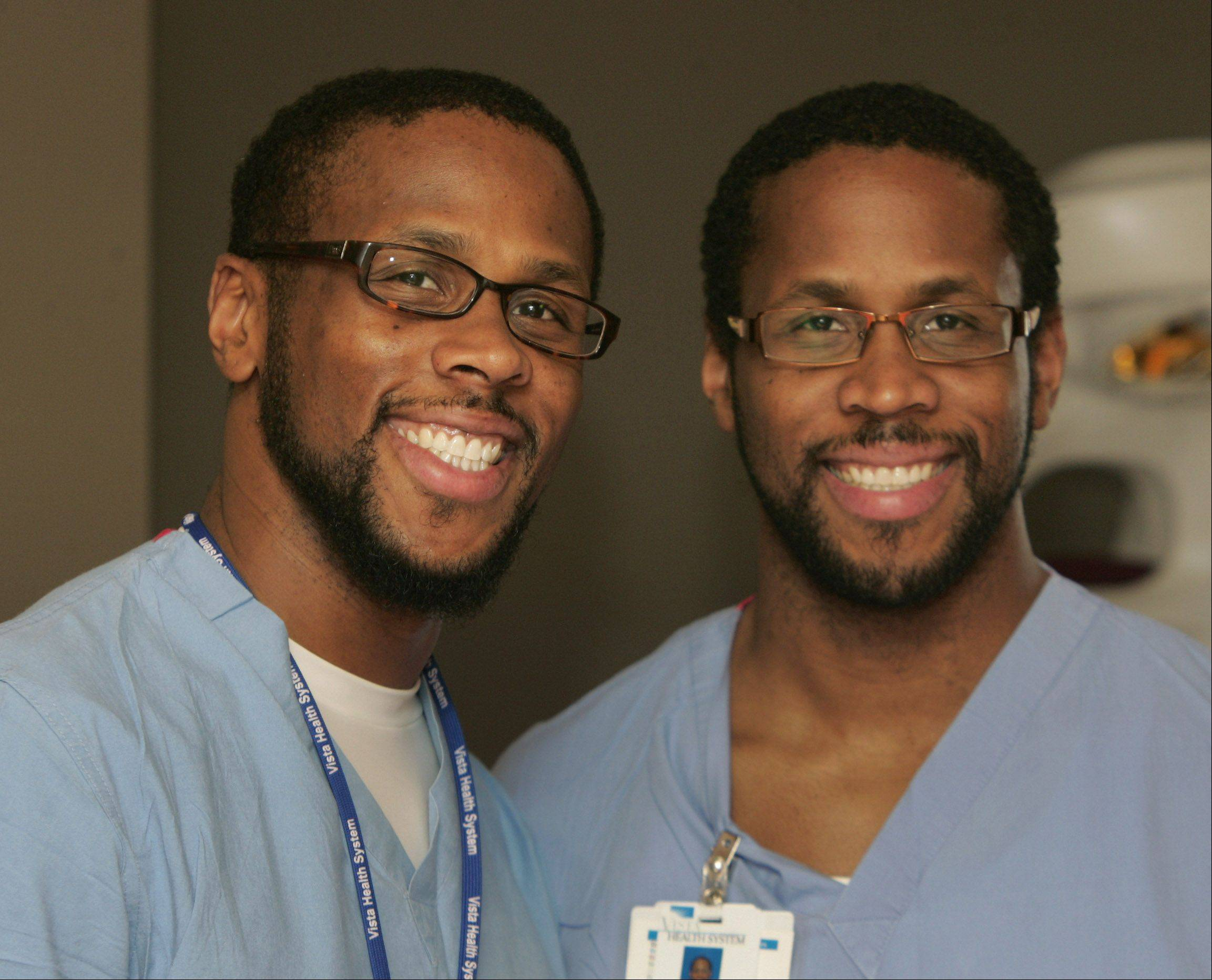 "Contestants on ""The Amazing Race"" face hunger and sleep-deprivation, but twin brothers Jamil, left, and Idries Abdur-Rahman say that the competition was physically less stressful than their medical residencies."