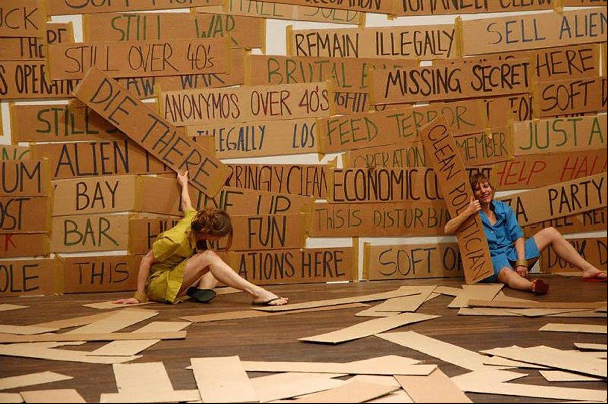 See a free, laugh-filled performance art piece by La Ribot at the Chicago Cultural Center.