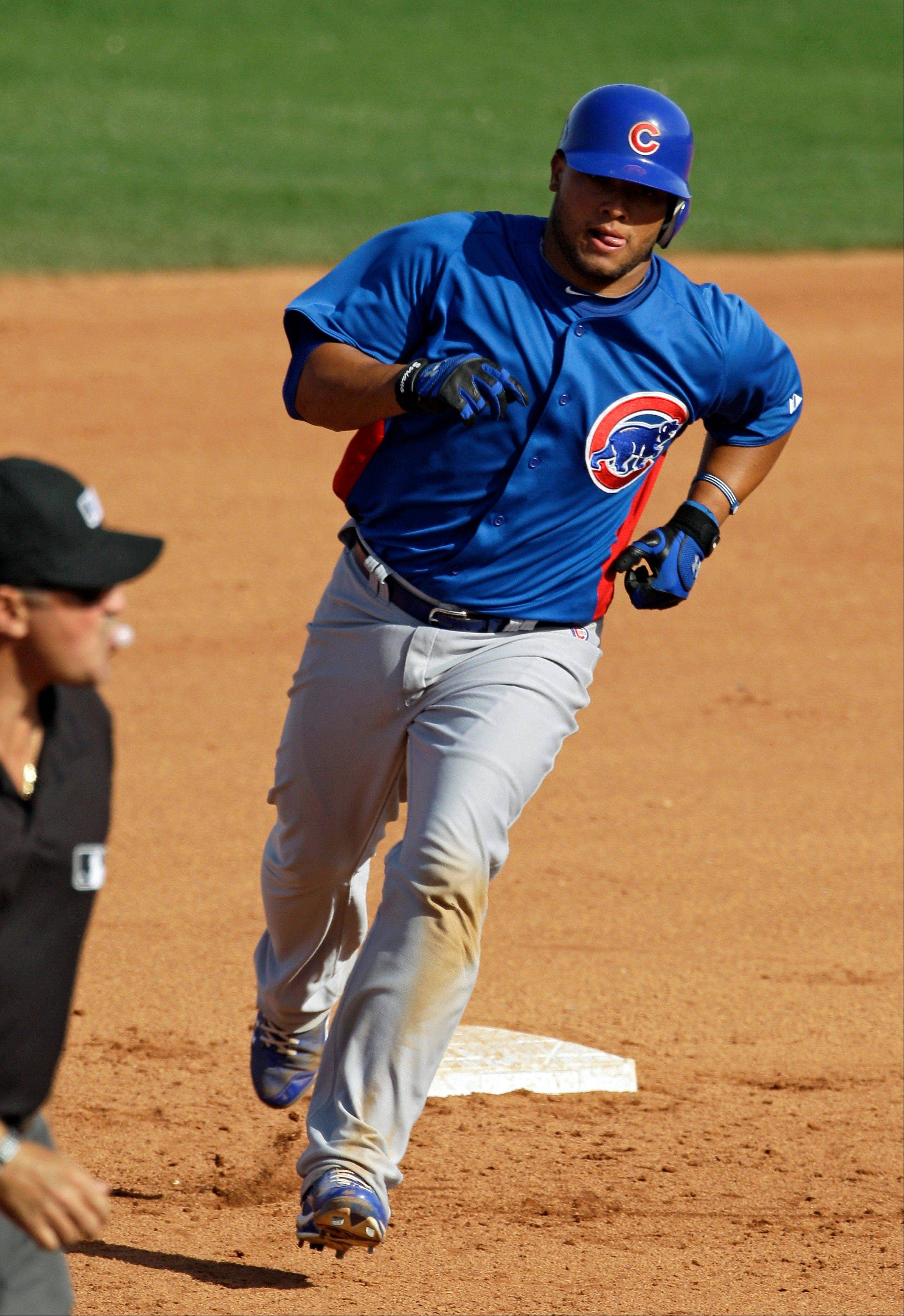 Welington Castillo has the inside track to be the Cubs' starting catcher this season.