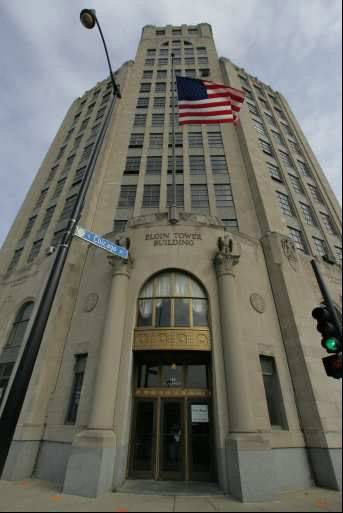The Elgin Tower Building needs to pass elevator inspections Tuesday or tenants on the upper floors will have one week to pack up their things and leave.