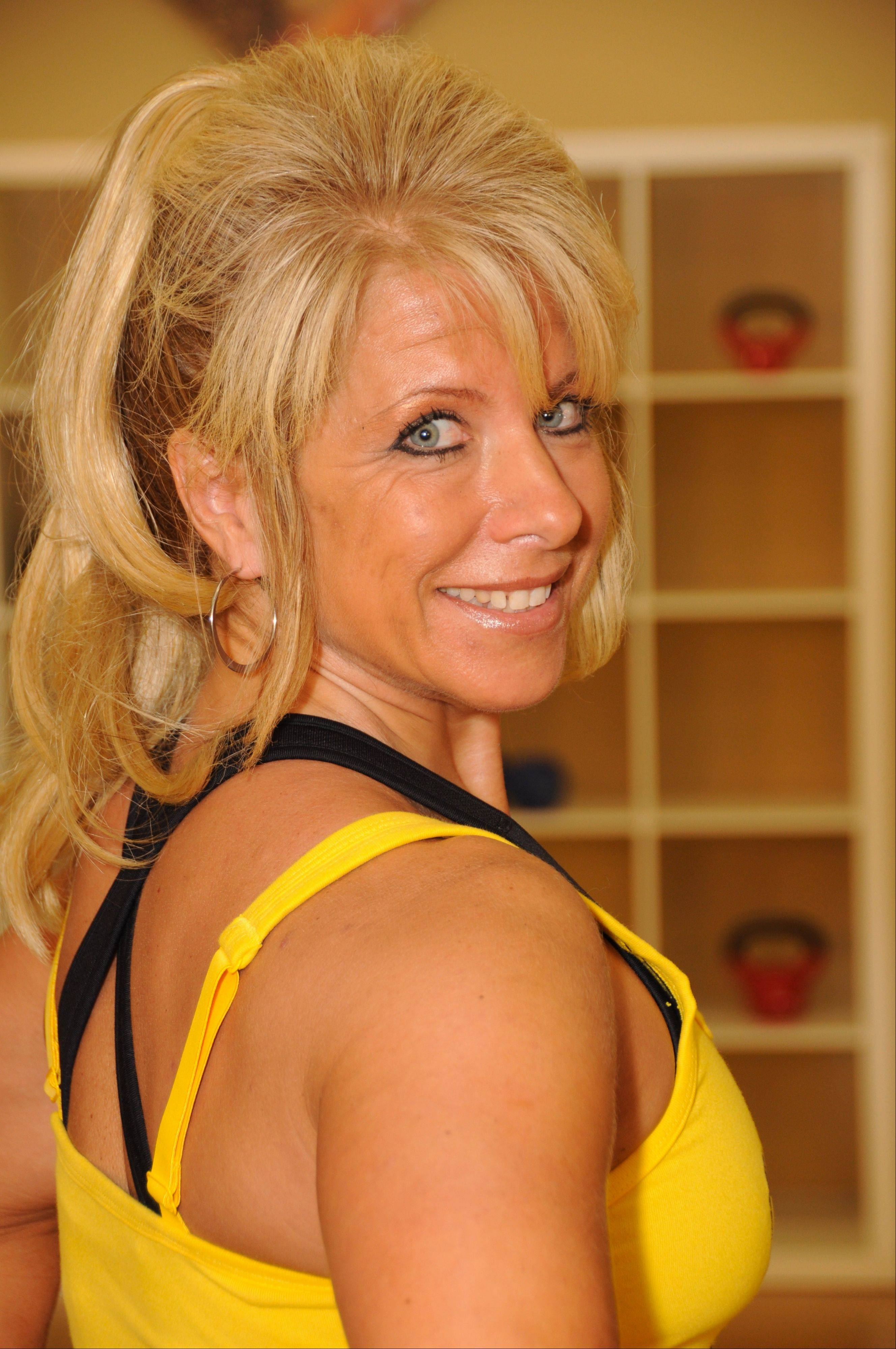 Leslie Grosshauser, co-owner of S&L Tri-CycleFitStudio in St. Charles.