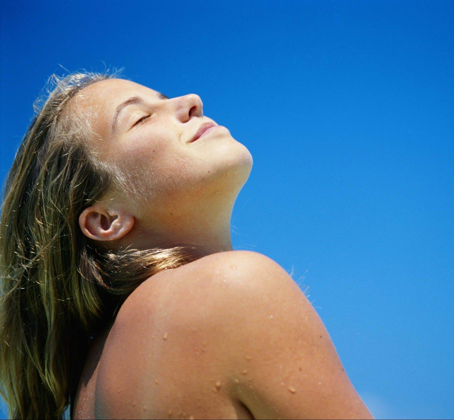 Sunscreen was thought to block vitamin D levels, but most people don't use enough it to have an impact.