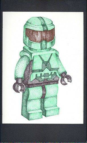 "Joohyuk Lee of Thomas Middle School created ""Master Chief."""