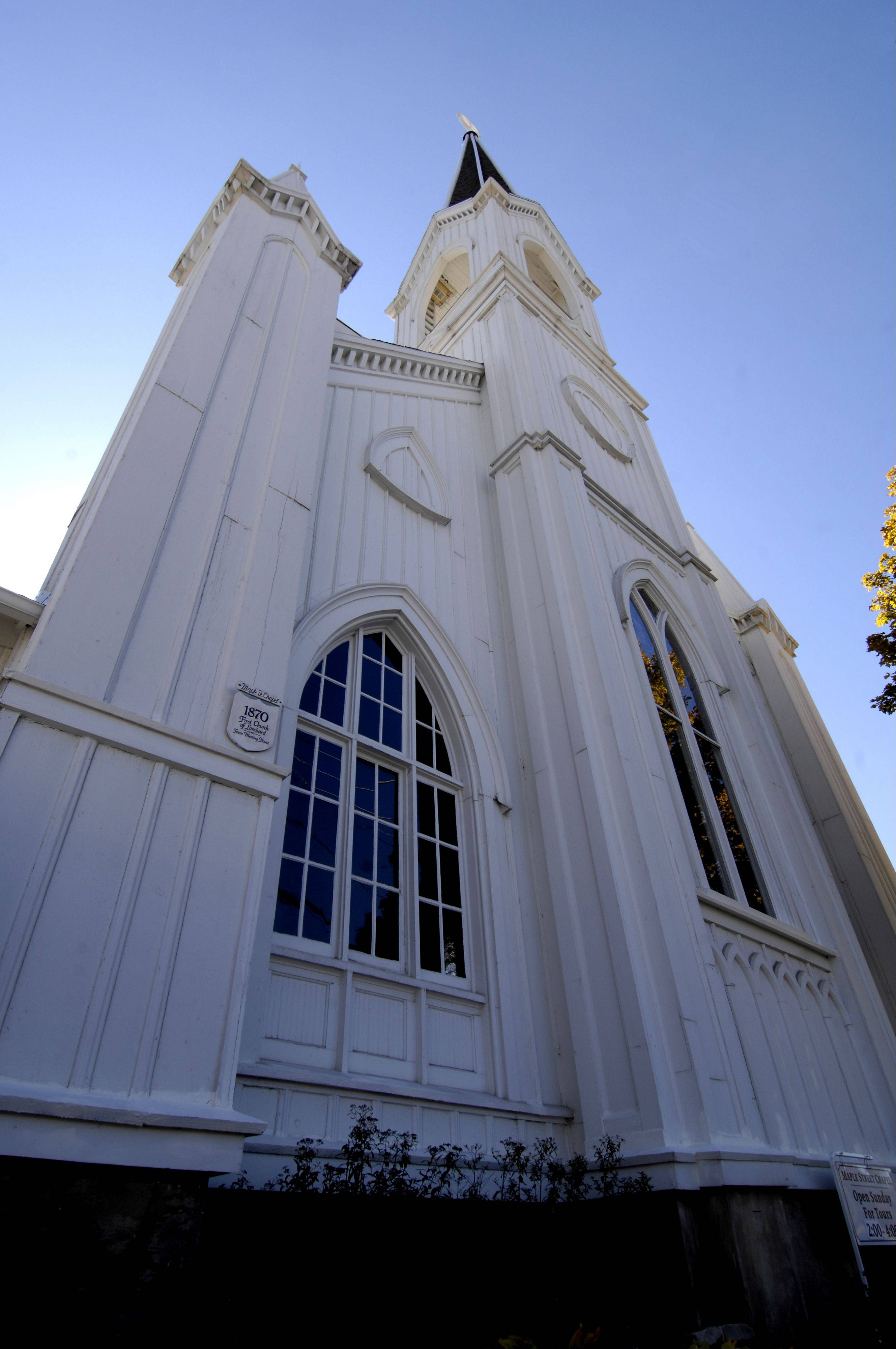 The Maple Street Chapel Preservation Society uses the annual variety series as a fundraiser to support efforts to preserve the historic Lombard church. The series begins Saturday, Feb. 23.