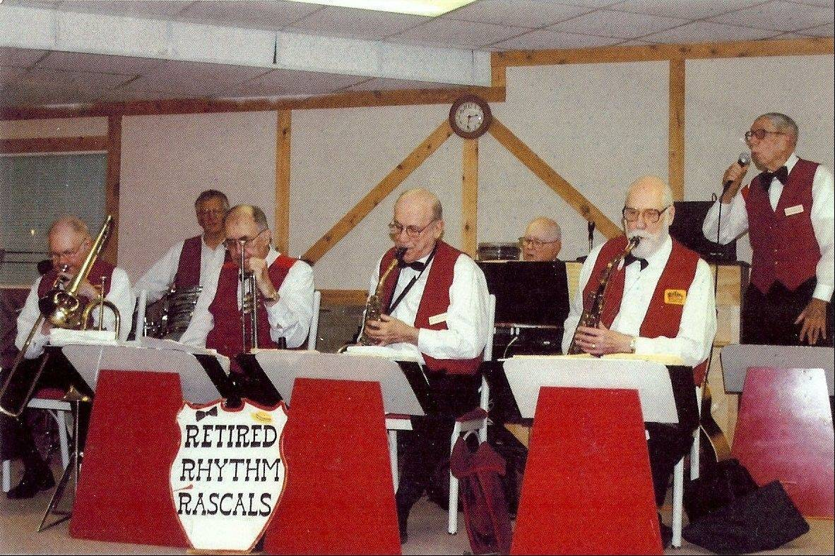 The Retired Rhythm Rascals will perform during the third program in the Maple Street Chapel Preservation Society's annual variety series at 3 p.m. Saturday, April 14, in the chapel at Main and Maple streets in Lombard.
