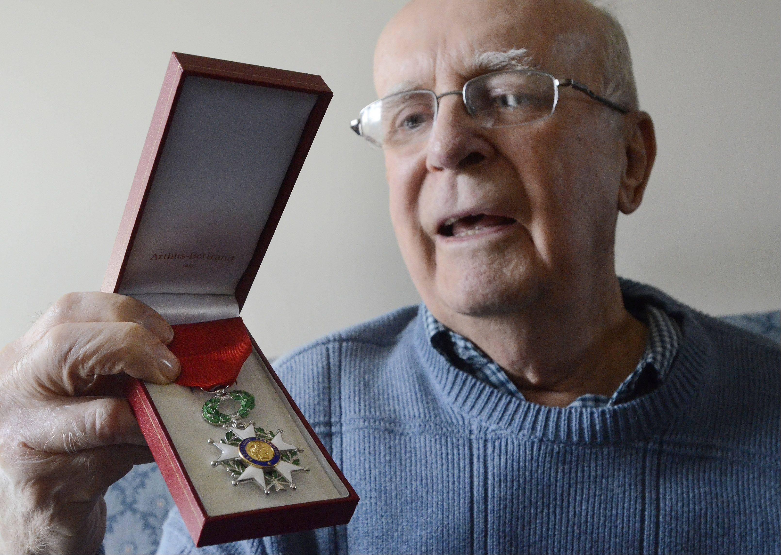 Schaumburg D-Day and Battle of the Bulge veteran Jim Butz has been awarded the French Legion of Honor medal. The medal will formally be awarded to him March 1.