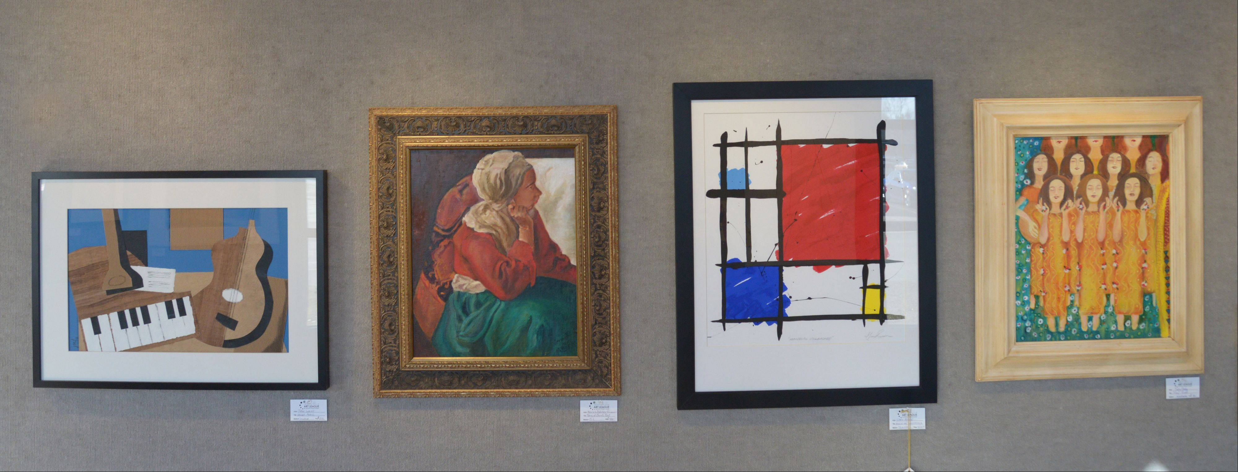 "Local artists faked masterpieces for the ""Fabulous Fakes"" show Sunday at the Naperville Fine Art Center and Gallery."