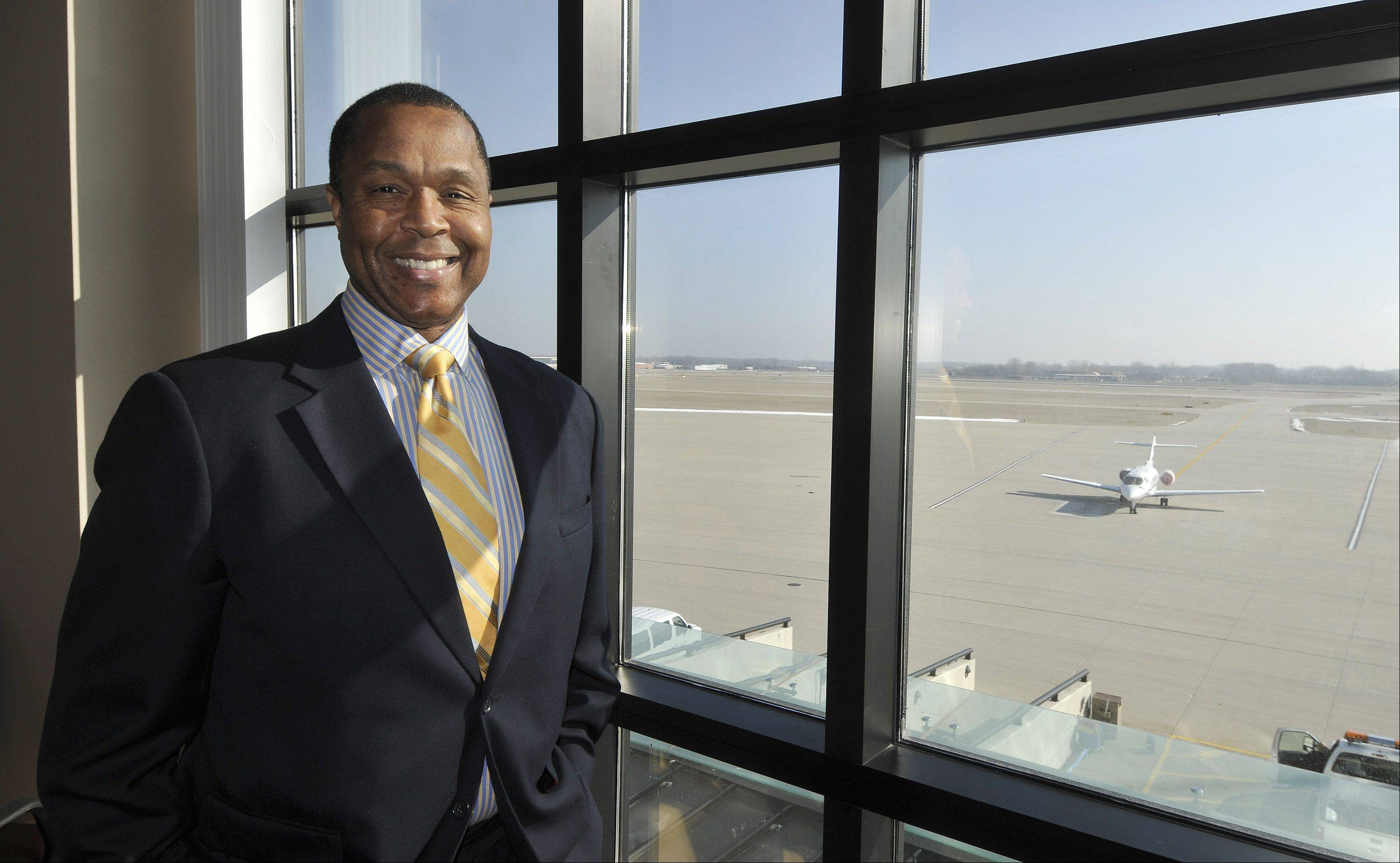 Stephen Davis, the new chairman of the DuPage Airport Authority Board, is no stranger to efforts to improve the facility in West Chicago.