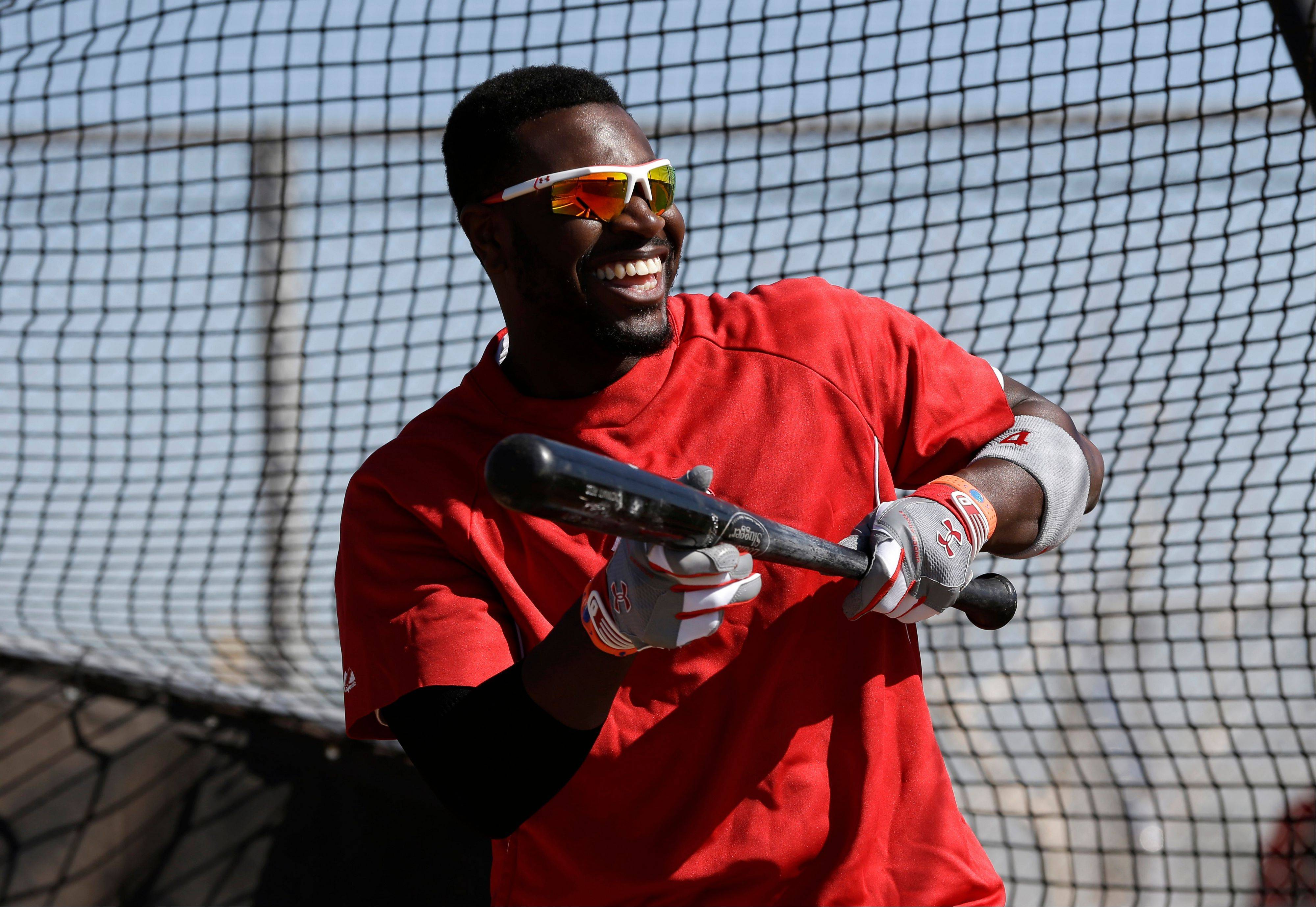 Reds second baseman Brandon Phillips says he likes to play with flair because the game is boring without it.