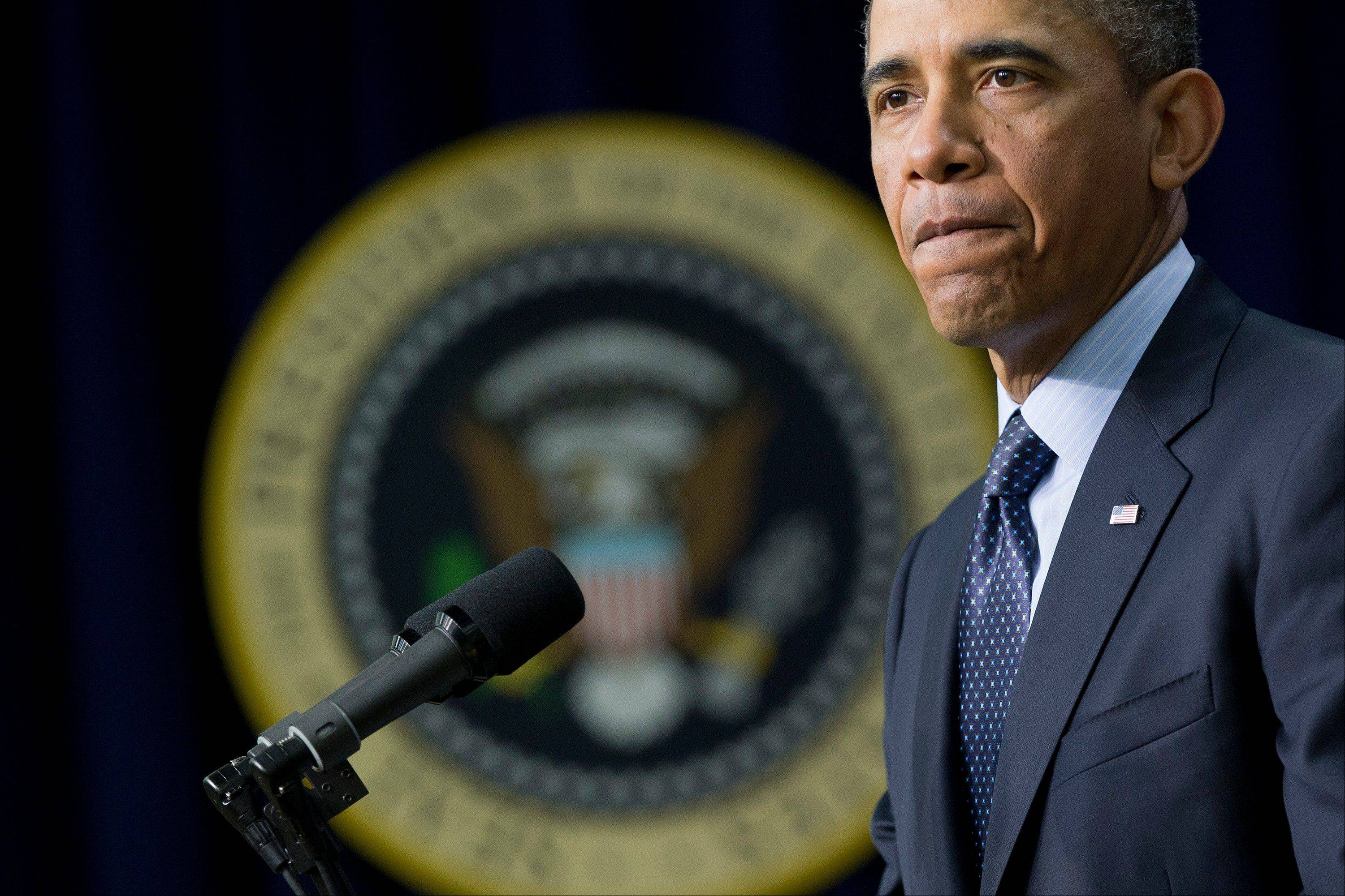 U.S. President Barack Obama stepped up pressure on Congress to avert �brutal� automatic $1.2 trillion in budget cuts set to kick in March 1, saying it would harm the economy and curtail vital services.