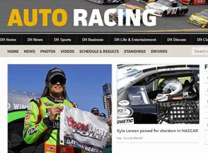 The Daily Herald's Auto Racing page