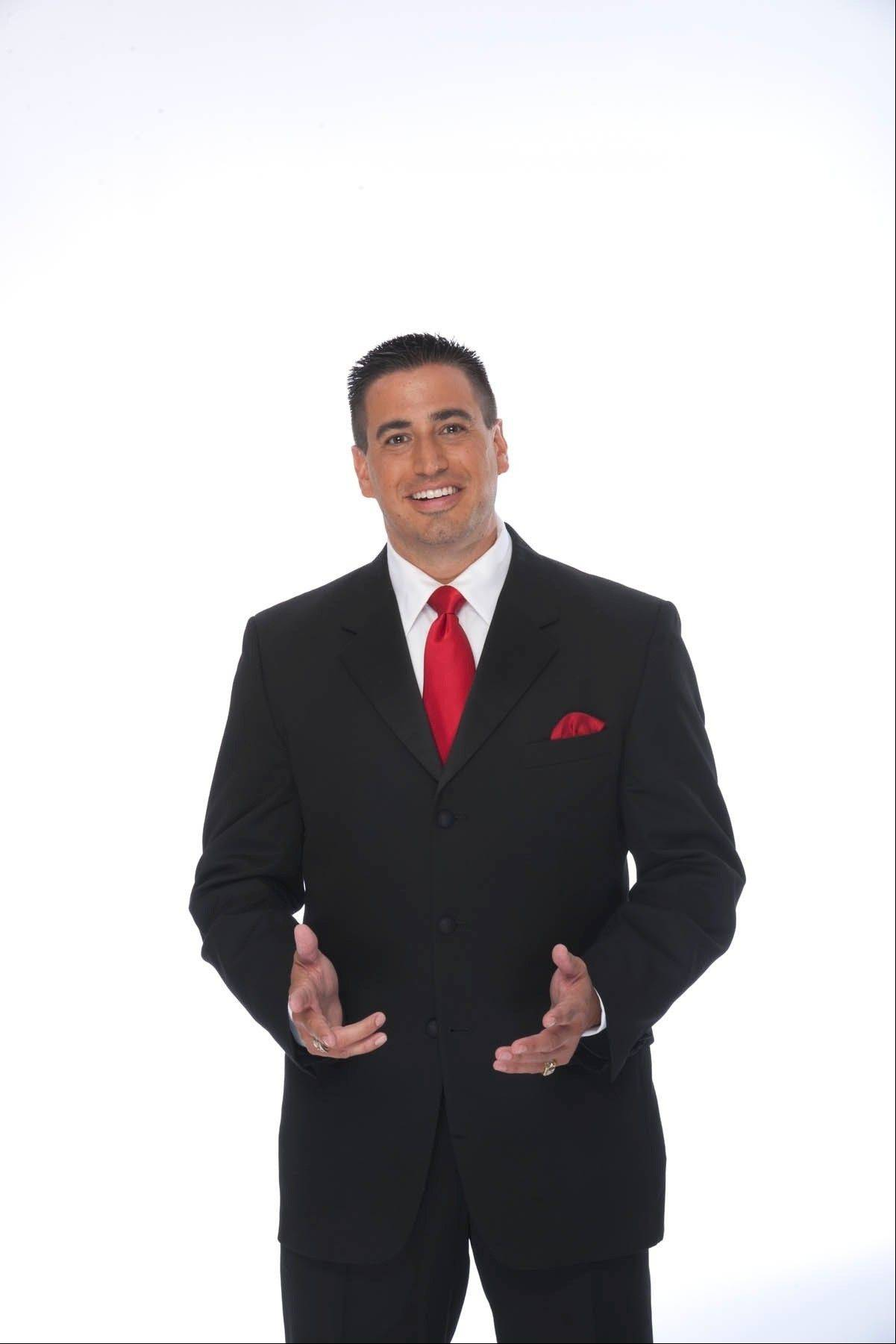 WWE announcer Justin Roberts of Buffalo Grove says he's working in his dream job.