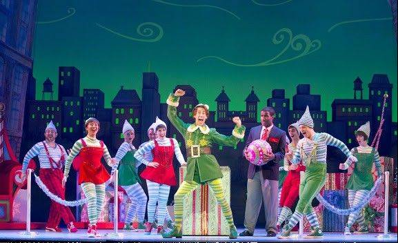 "Broadway in Chicago spreads yuletide cheer with ""Elf the Musical"" coming to the Cadillac Palace Theatre in November."