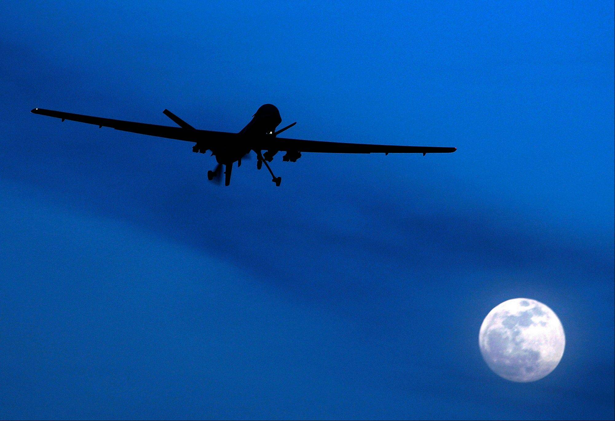 The number of U.S. drone strikes in Afghanistan jumped 72 percent in 2012, killing at least 16 civilians in a sharp increase from the previous year, the U.N. said Tuesday.