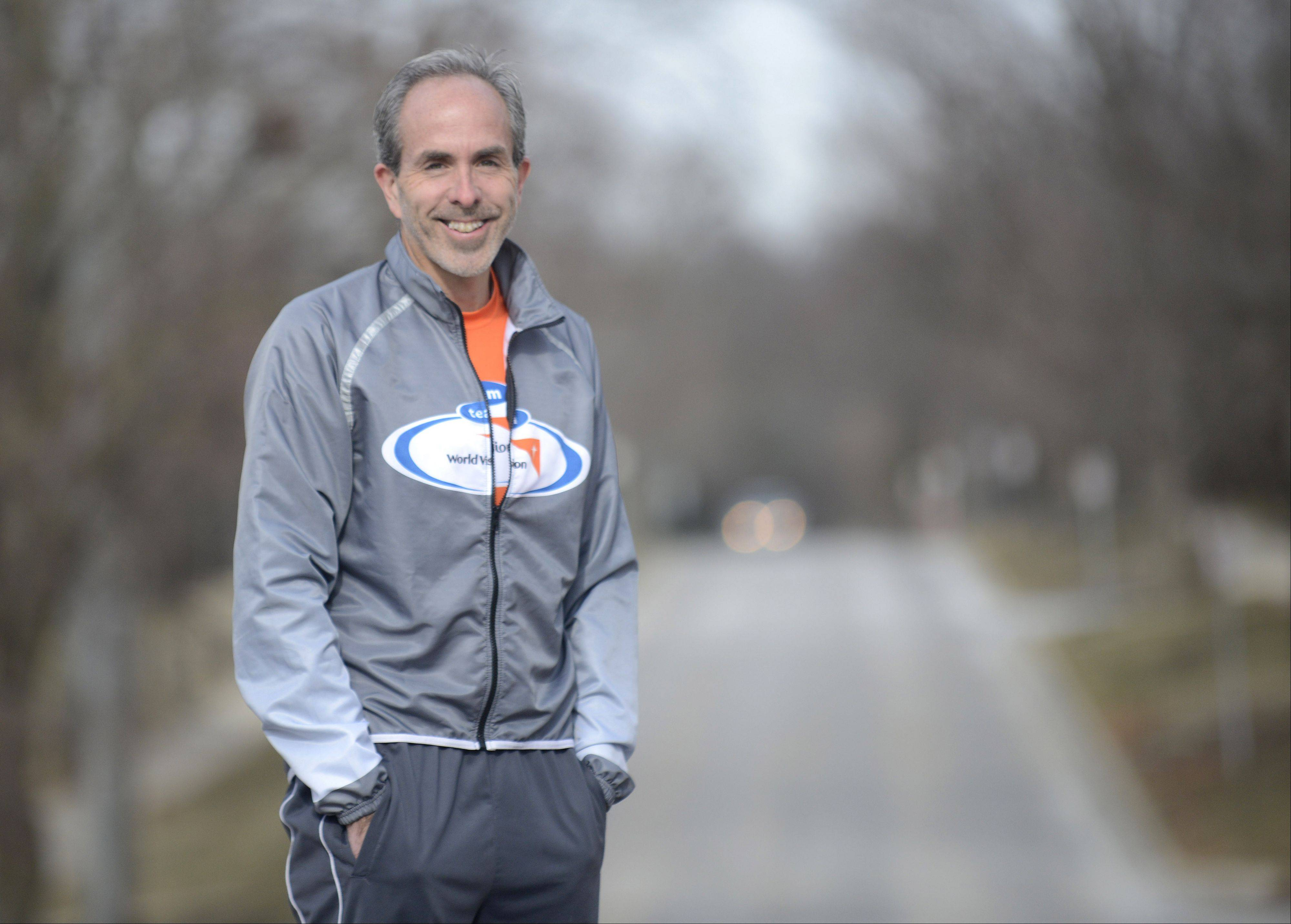 St. Charles resident Steve Spear will begin a run next month from Santa Monica, Calif., to New York.