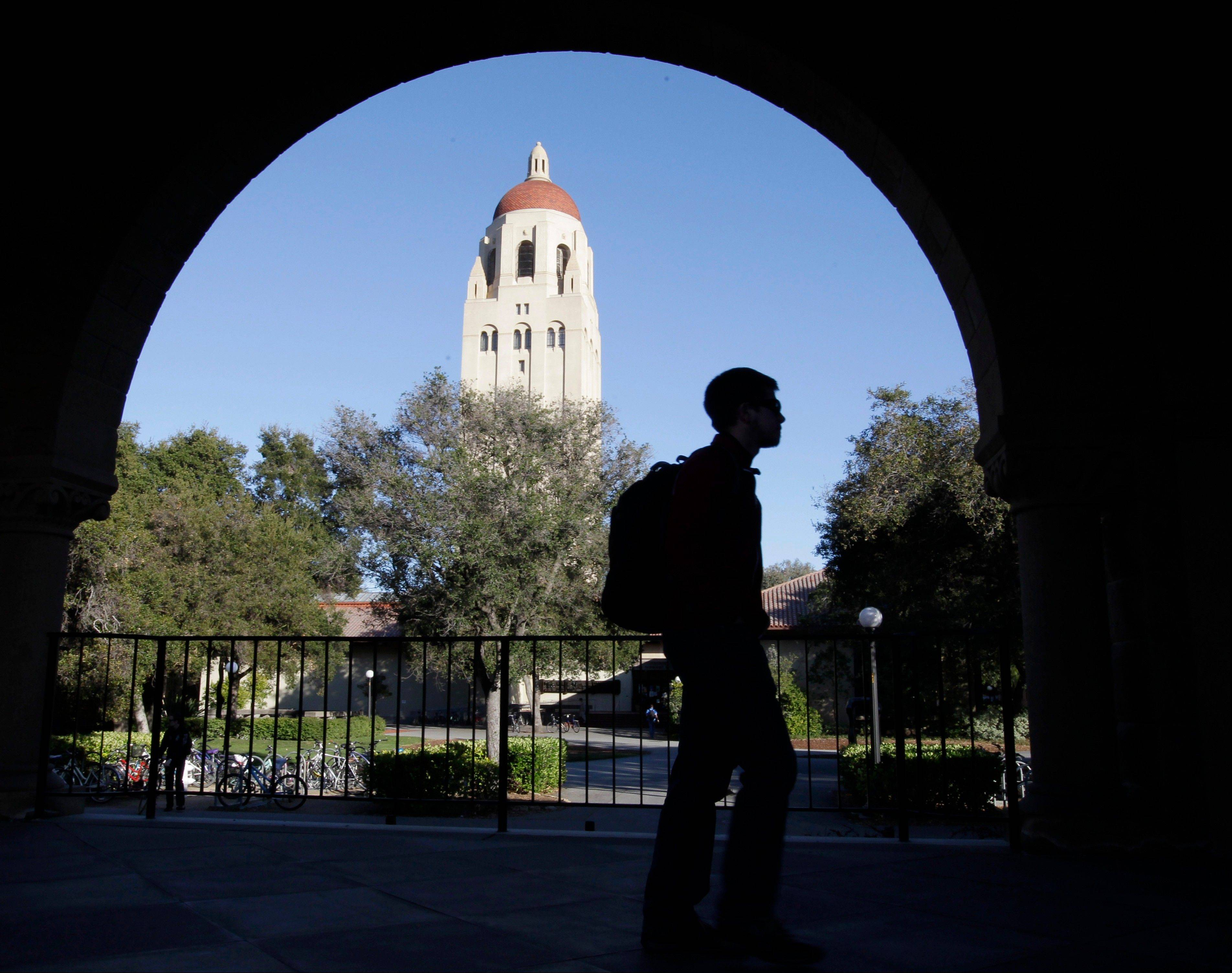 Stanford University became the first school to raise $1 billion in a single year, according to an annual college fundraising report released Wednesday, Feb. 20, 2013, that shows that elite institutions continue to grab a disproportionate share of donor dollars.