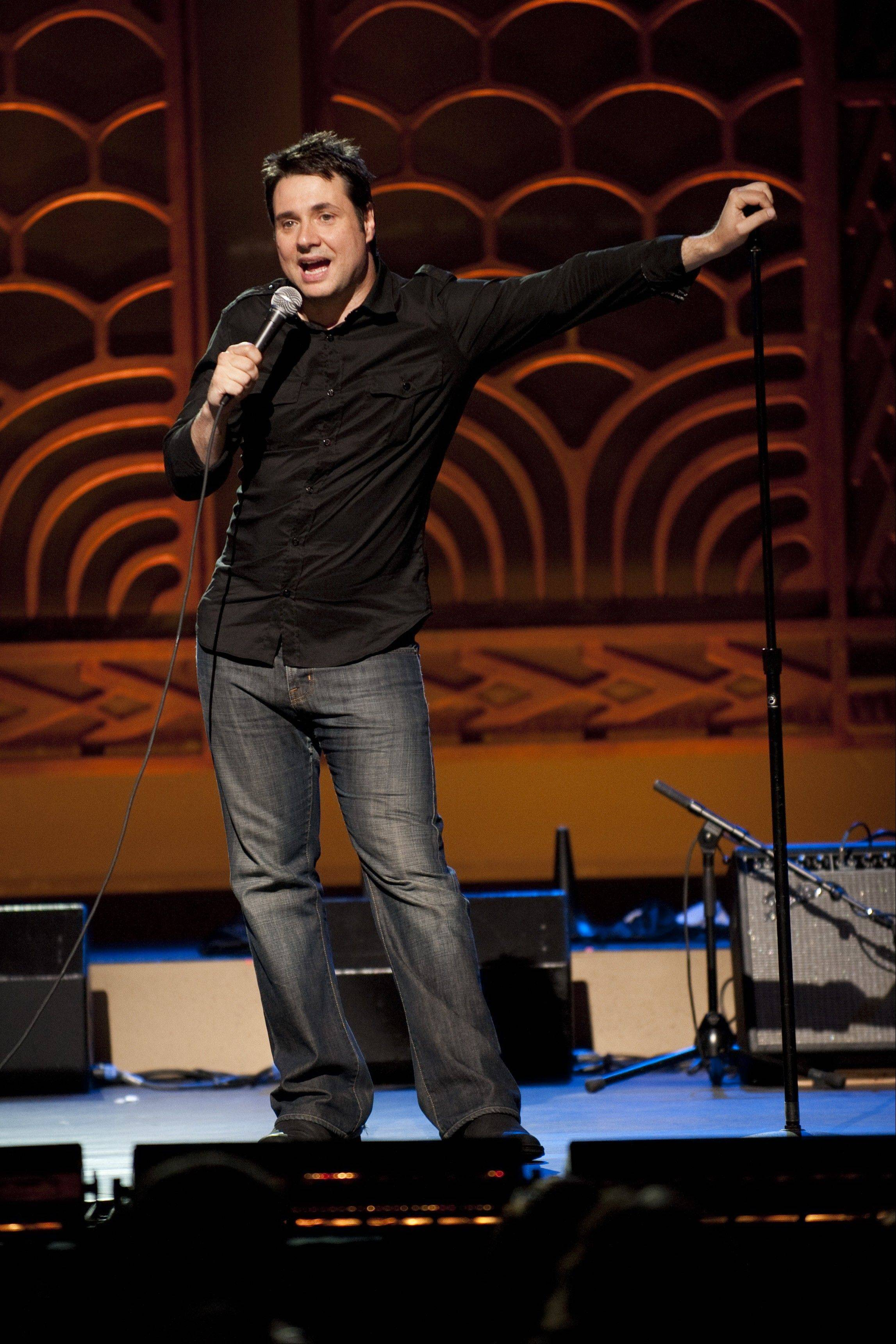 "Adam Ferrara of TV's ""Rescue Me"" and ""Top Gear"" appears at The Improv Comedy Showcase in Schaumburg and at the Volo Auto Museum in Volo."