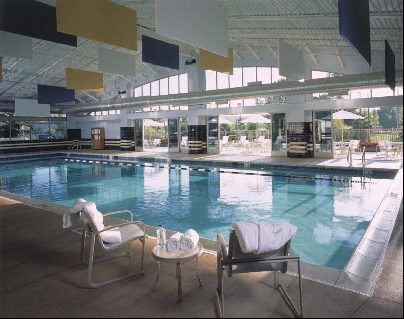 "A 75-foot indoor pool is among the features of the new ""The Biggest Loser Resort-Chicago,"" which will open in May in Itasca."
