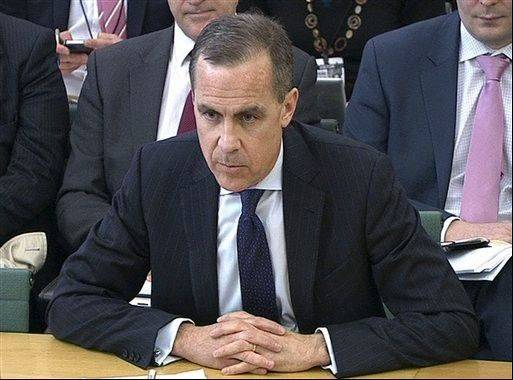 Bank of England governor-in-waiting Mark Carney