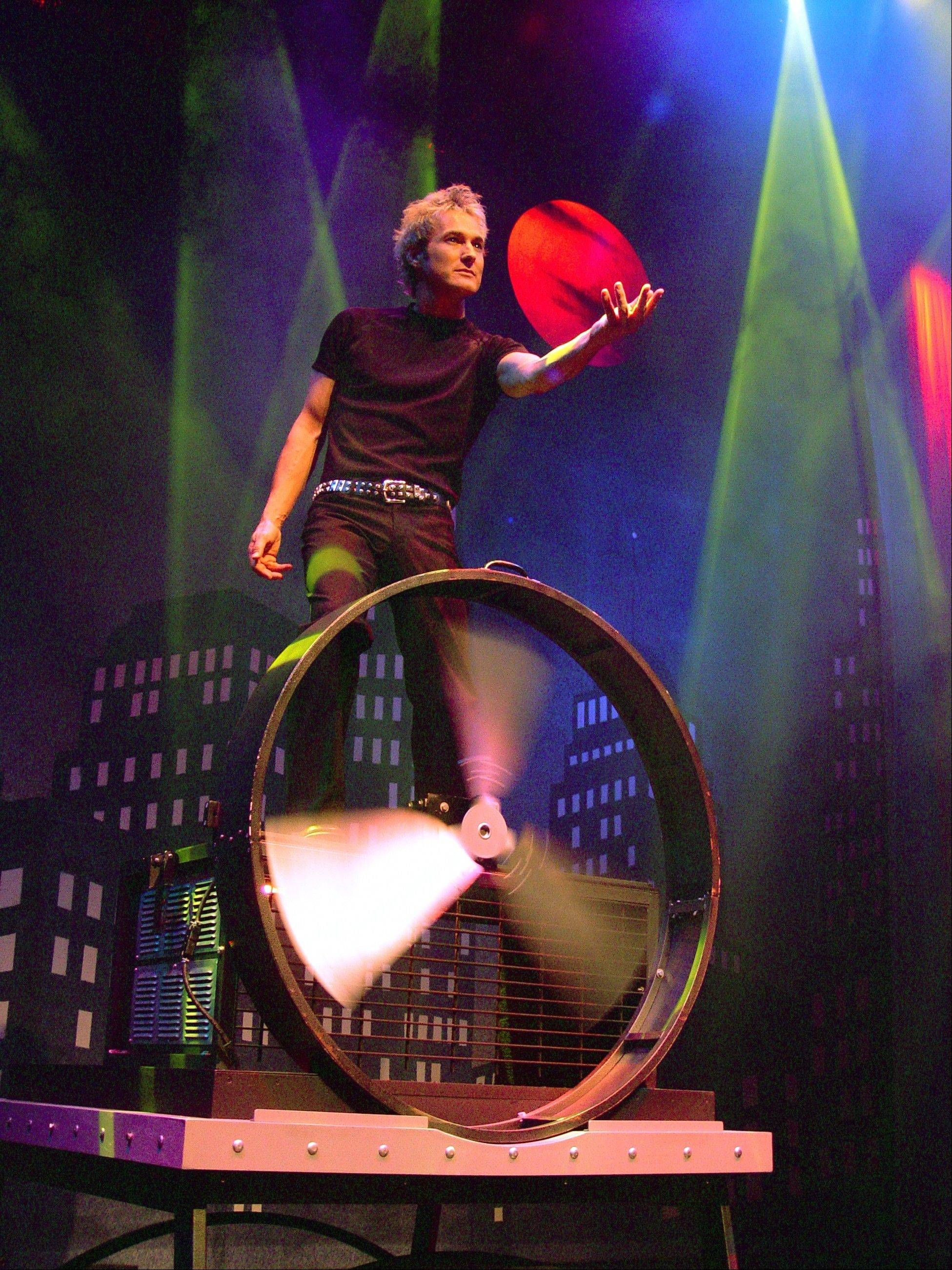 """Spencers Theatre of Illusion"" plays the Metropolis Performing Arts Centre in Arlington Heights on Sunday, Feb. 24."