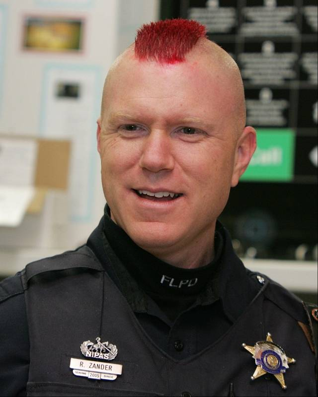 Police Officer Haircut