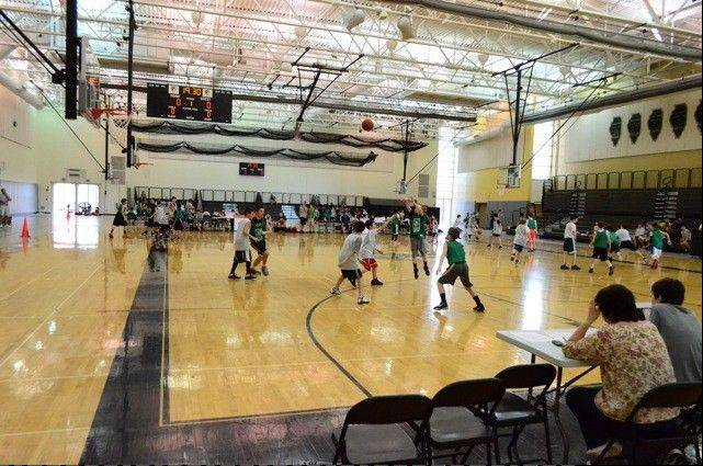 More than 100 teams competed at last year's Hoops for Hope tournament, held by the 12 Oaks Foundation to benefit children in families coping with cancer and financial hardship.