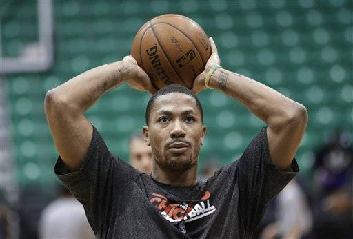 Derrick Rose did full-court scrimmaging Wednesday for the second time in three days. He put on a nice display of 3-point shooting at the end of practice, including several makes from beyond 25 feet, and walked off the court drenched with sweat. As usual, there was no actual news about his progress.