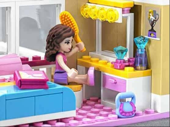 Lego�s sales soared 25 percent last year thanks in part to its new series of building blocks designed for girls.