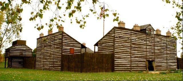 Copy of Fort Wayne�s original 1794 fort.