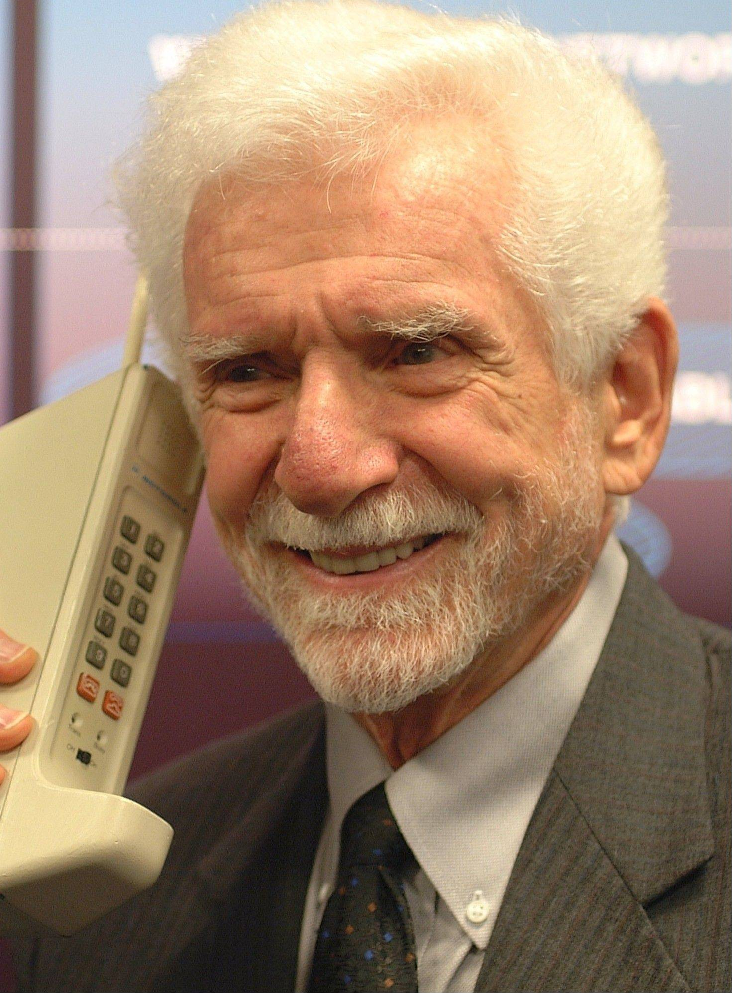 Marty Cooper led the Motorola team in 1973 to create the first cellphone, called the DynaTac.