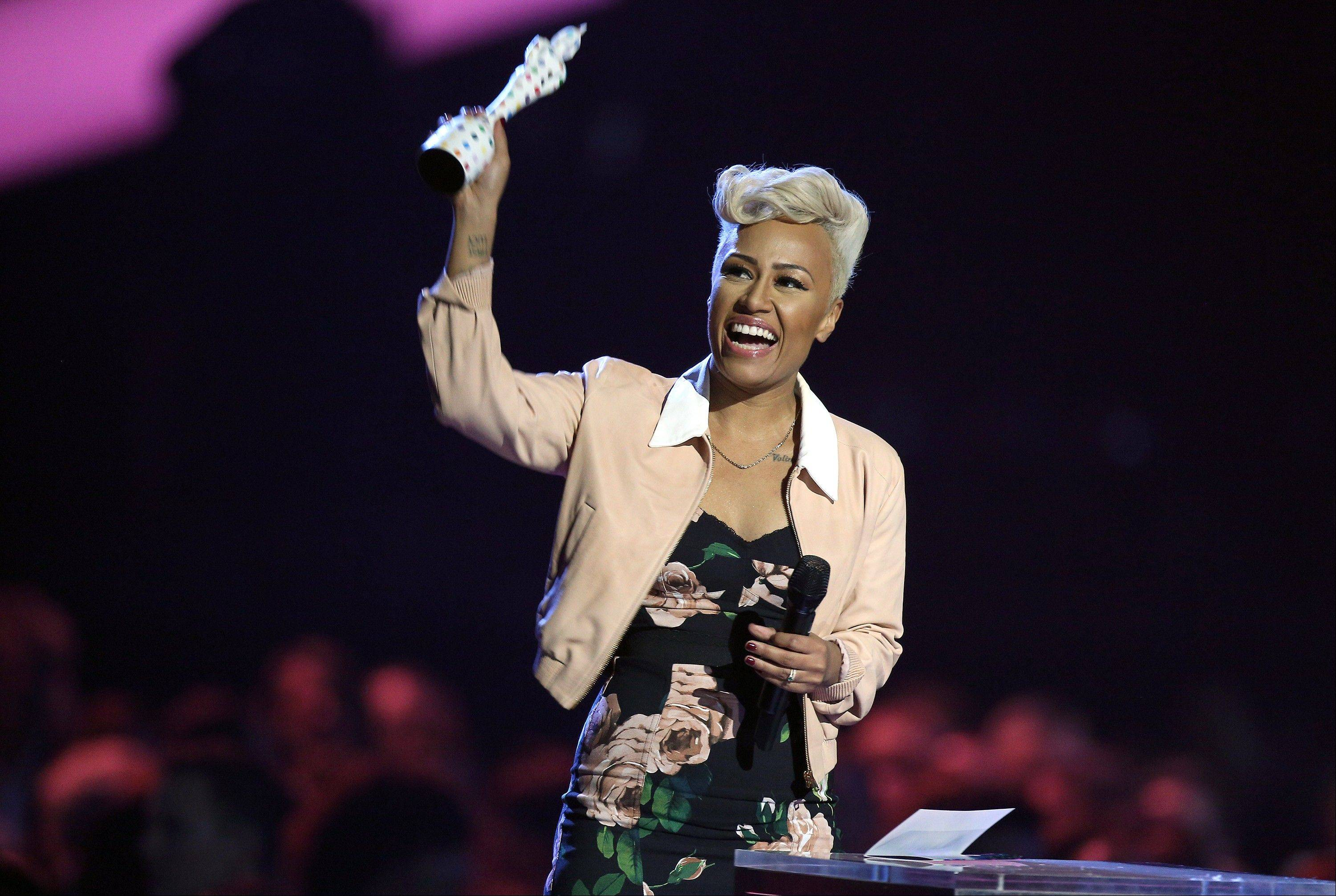 Emeli Sande won the British Album of the Year award during the BRIT Awards 2013 at the O2 Arena in London on Wednesday.