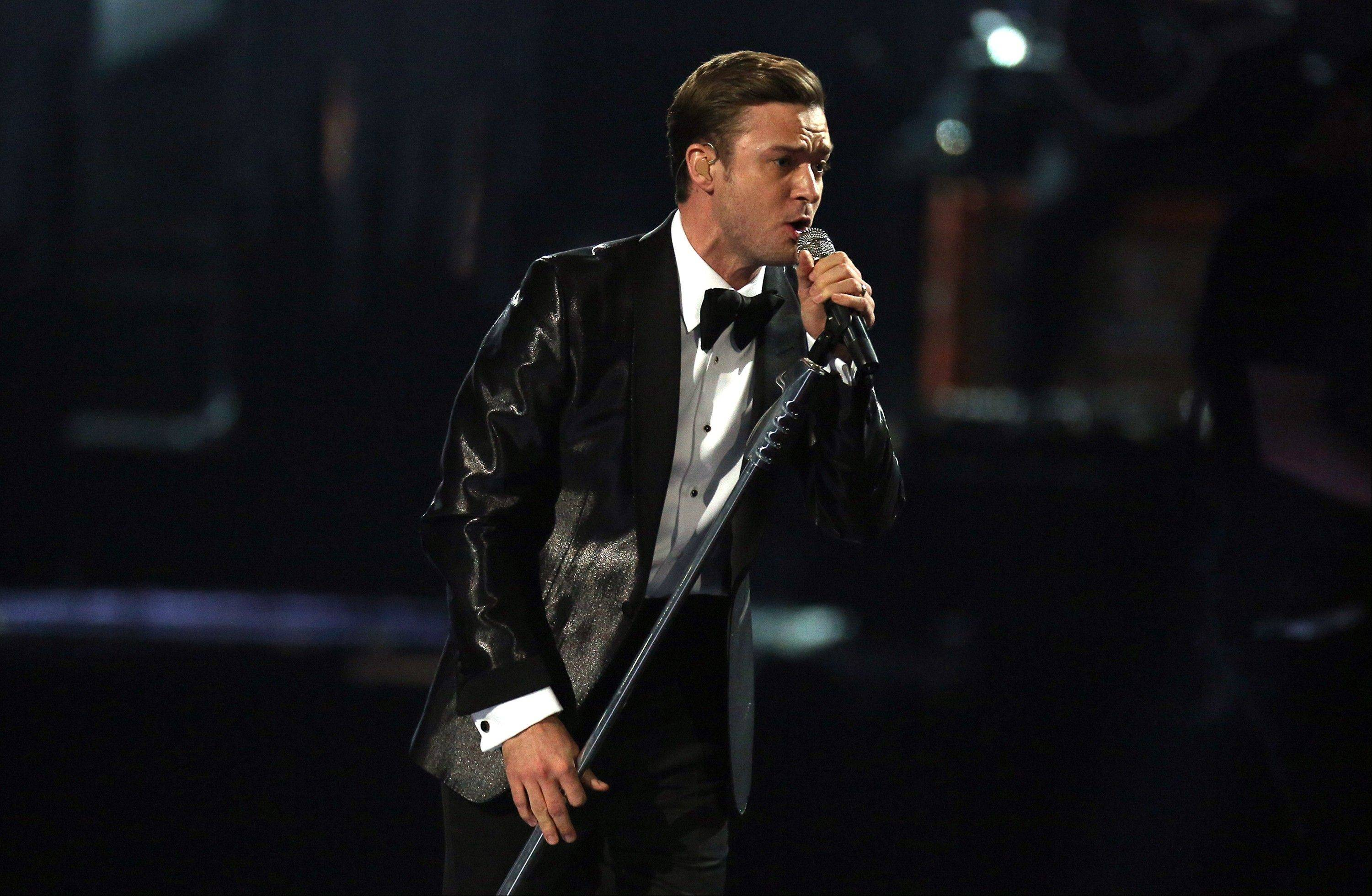 The BRIT Awards 2013 included American performers like Justin Timberlake Wednesday.