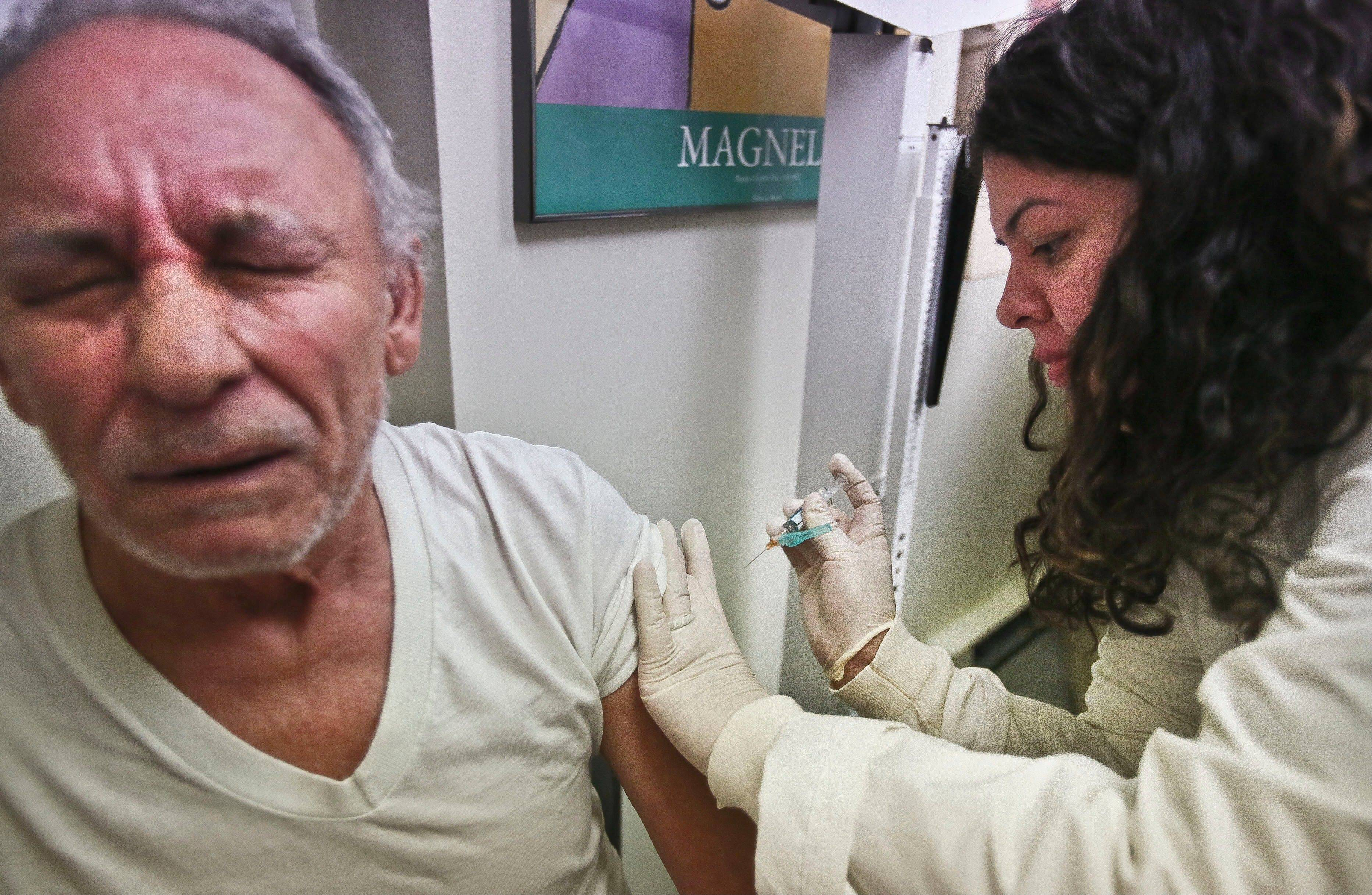 Health officials said Thursday this season's flu shot was only 9 percent effective in protecting seniors against the most common and dangerous flu bug.