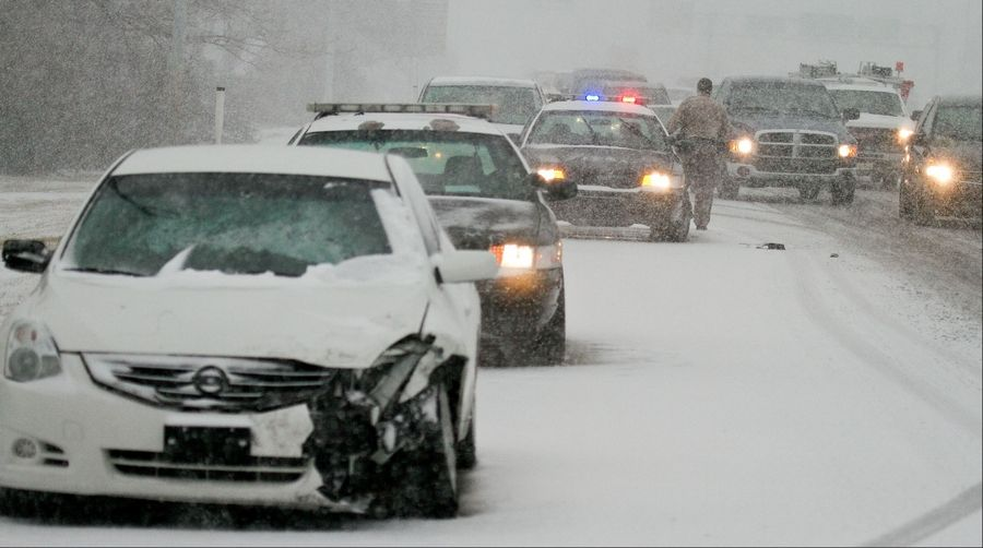 Southern Illinois among areas hit by storm so far