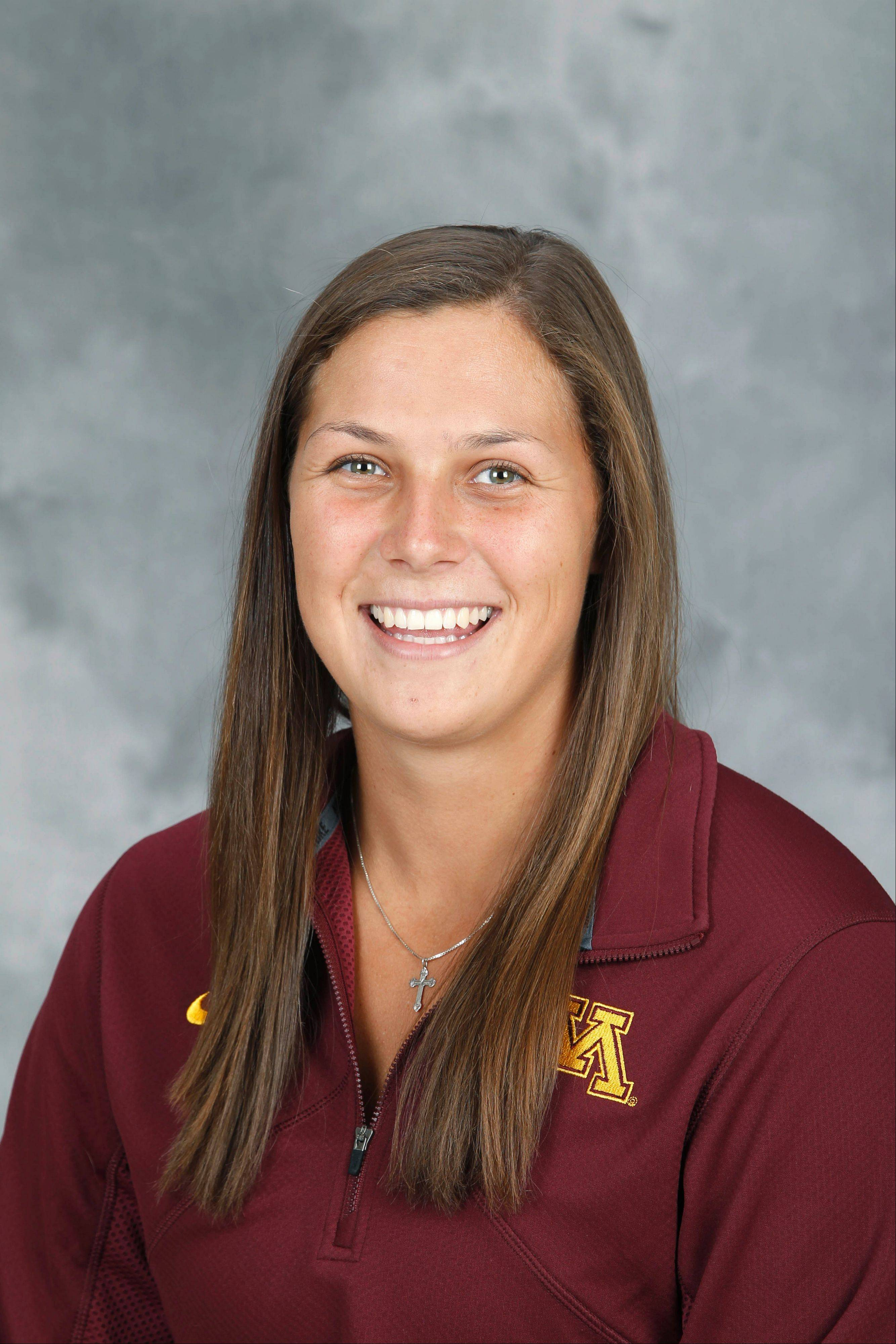 Buffalo Grove native Megan Bozek is co-captain of the undefeated University of Minnesota women's ice hockey team and a contender for the 2014 U.S. Olympic team.