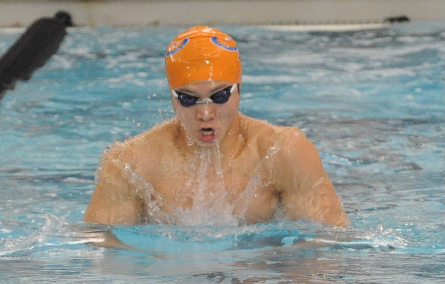 Hoffman Estates senior Sang Han was a sectional champion in the 100 breaststroke; he'll swim that race plus the 50 freestyle in Friday's state meet prelims at New Trier.
