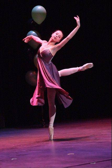 Dancer Rachel Martens of West Chicago will be featured at Saturday's P-Parts Variety Show.