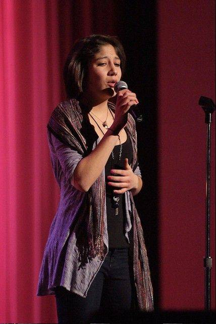 Samantha Perez of St. Charles will perform at the Saturday variety show fundraiser for P-Parts.