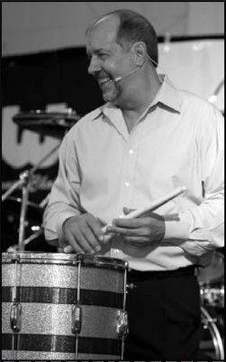 Steve Fagiano, drummer and MCC faculty member.