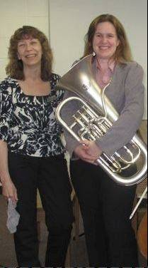 Pianist and vocalist Tara Singer will be joined by Paige Lush on euphonium at the MCC Faculty Concert.