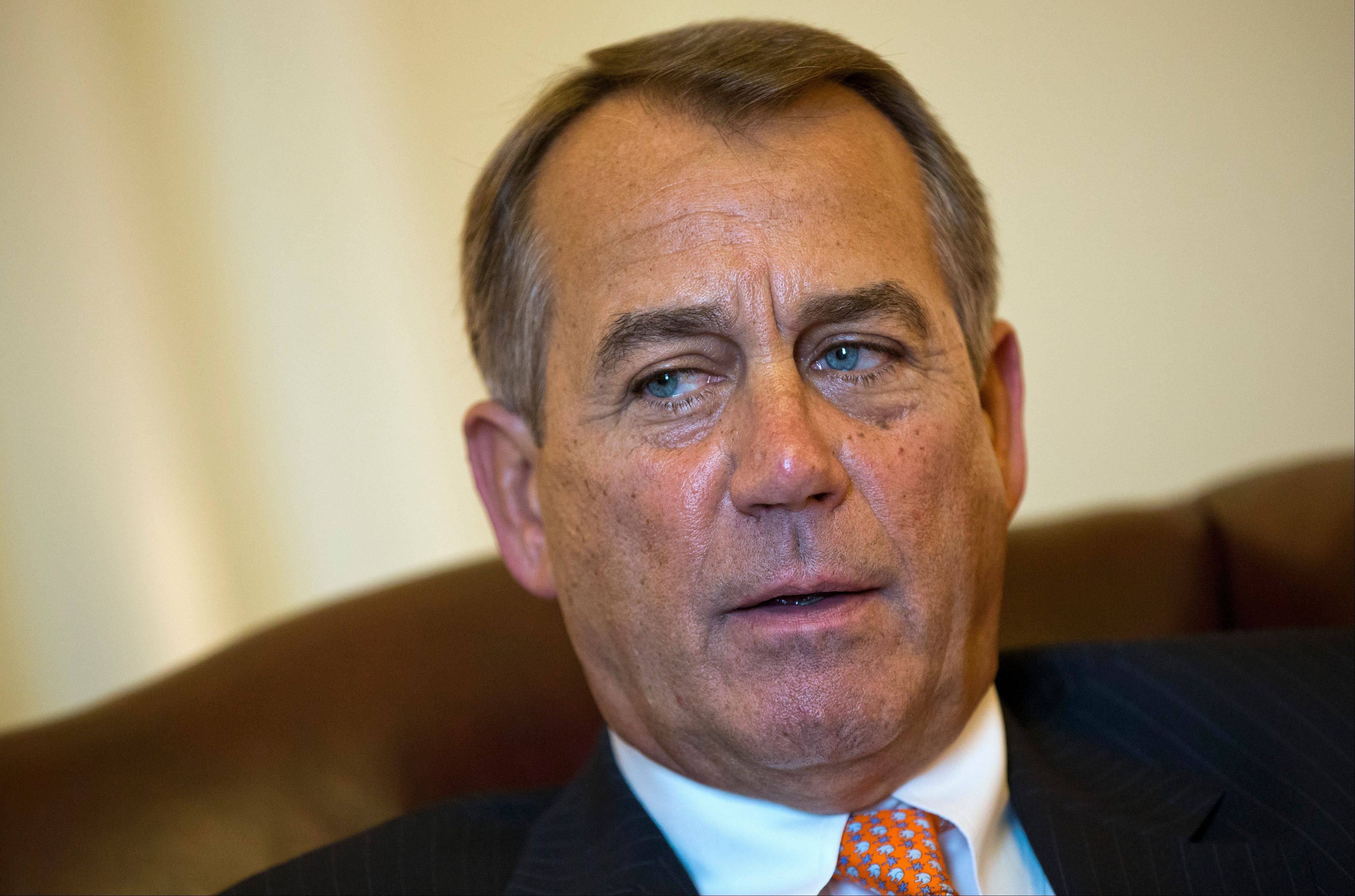 Associated Press file photo House Speaker John Boehner is in a game of brinksmanship with President Obama.