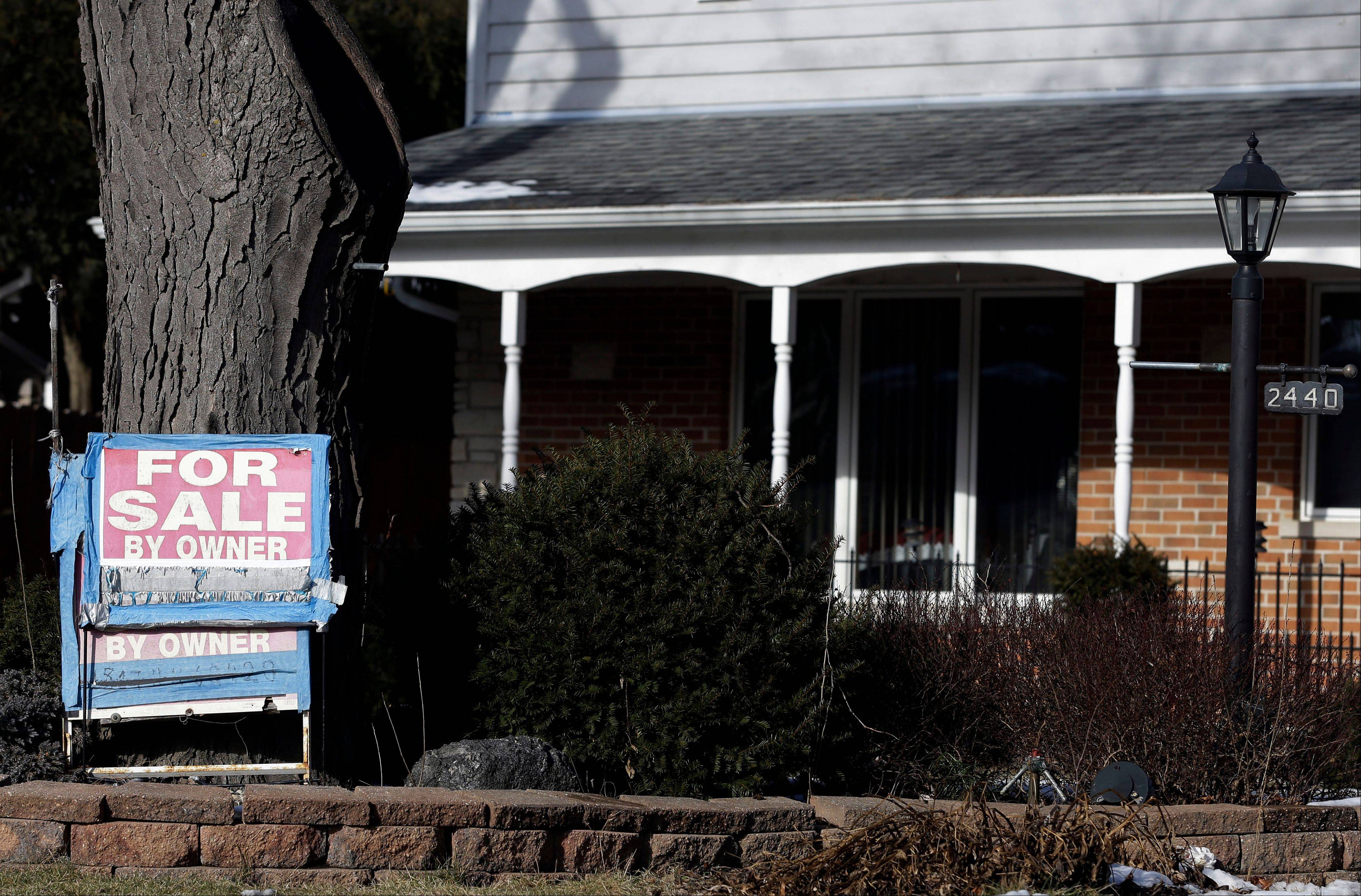 home is for sale in Glenview U.S. sales of previously occupied homes rose in January to the second-highest level in three years, a sign that the housing market is sustaining its recovery and helping bolster the economy.
