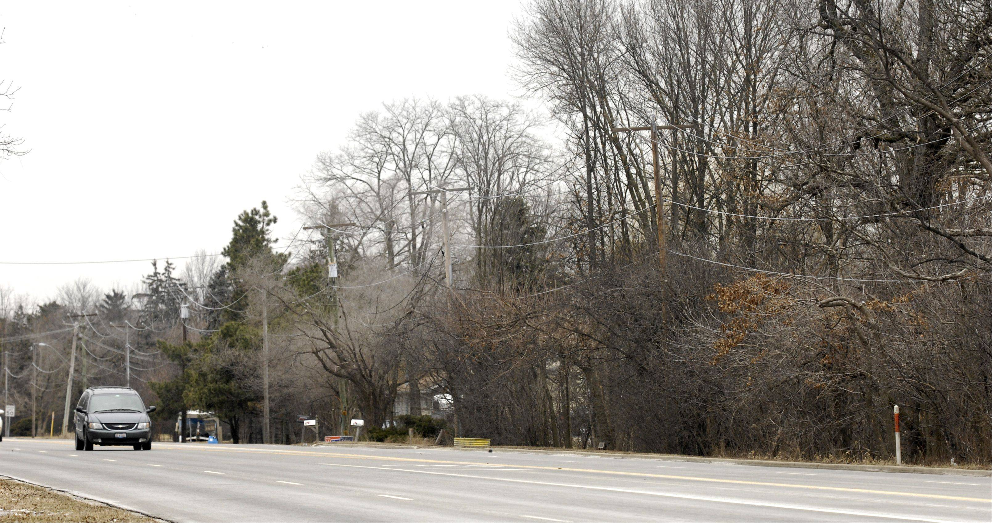 A majority of the Winfield village board is pushing a plan to rezone parts of Roosevelt Road to clear the way for possible commercial redevelopment.