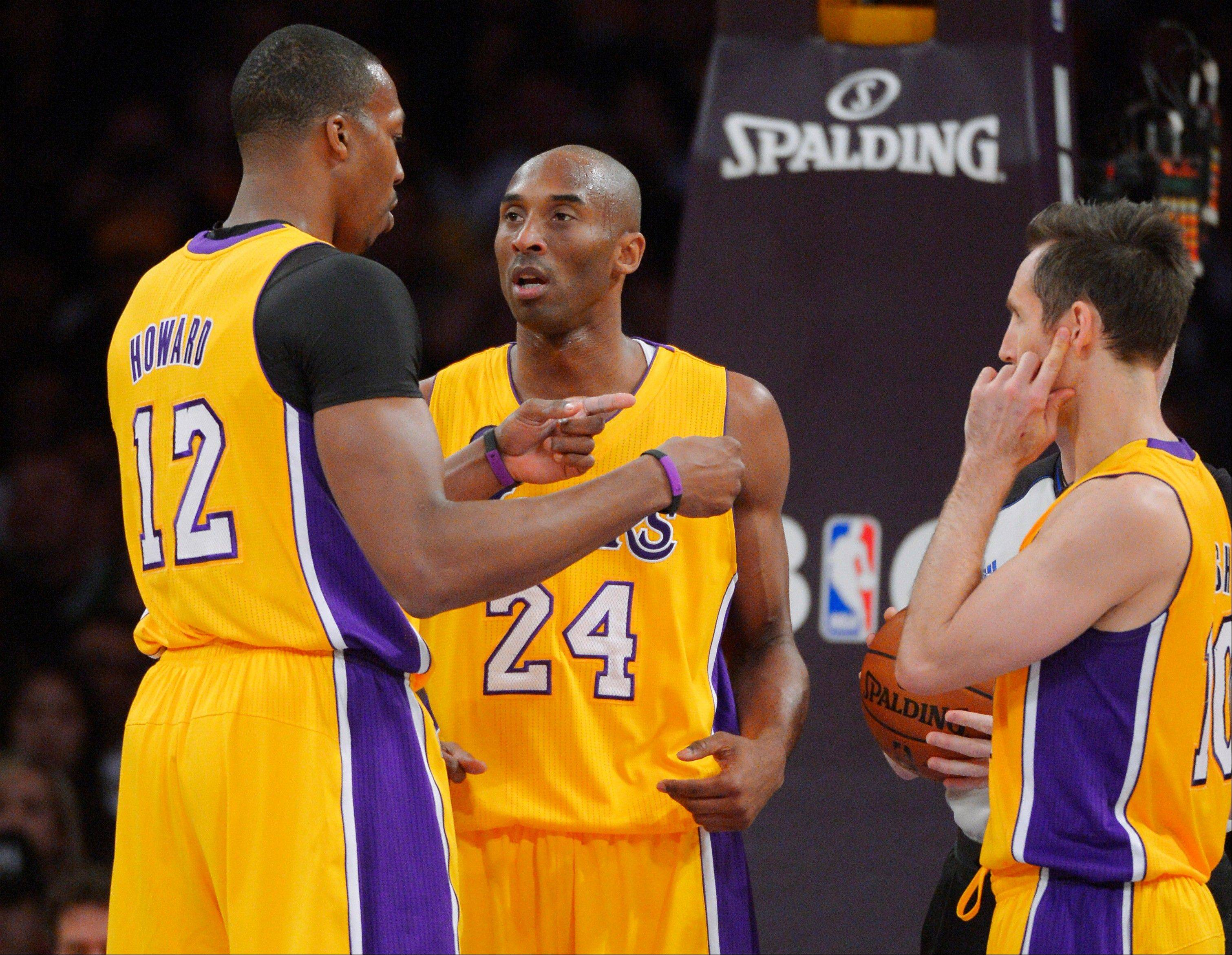 Will the Lakers survive the drama and struggles with center Dwight Howard and guard Kobe Bryant?