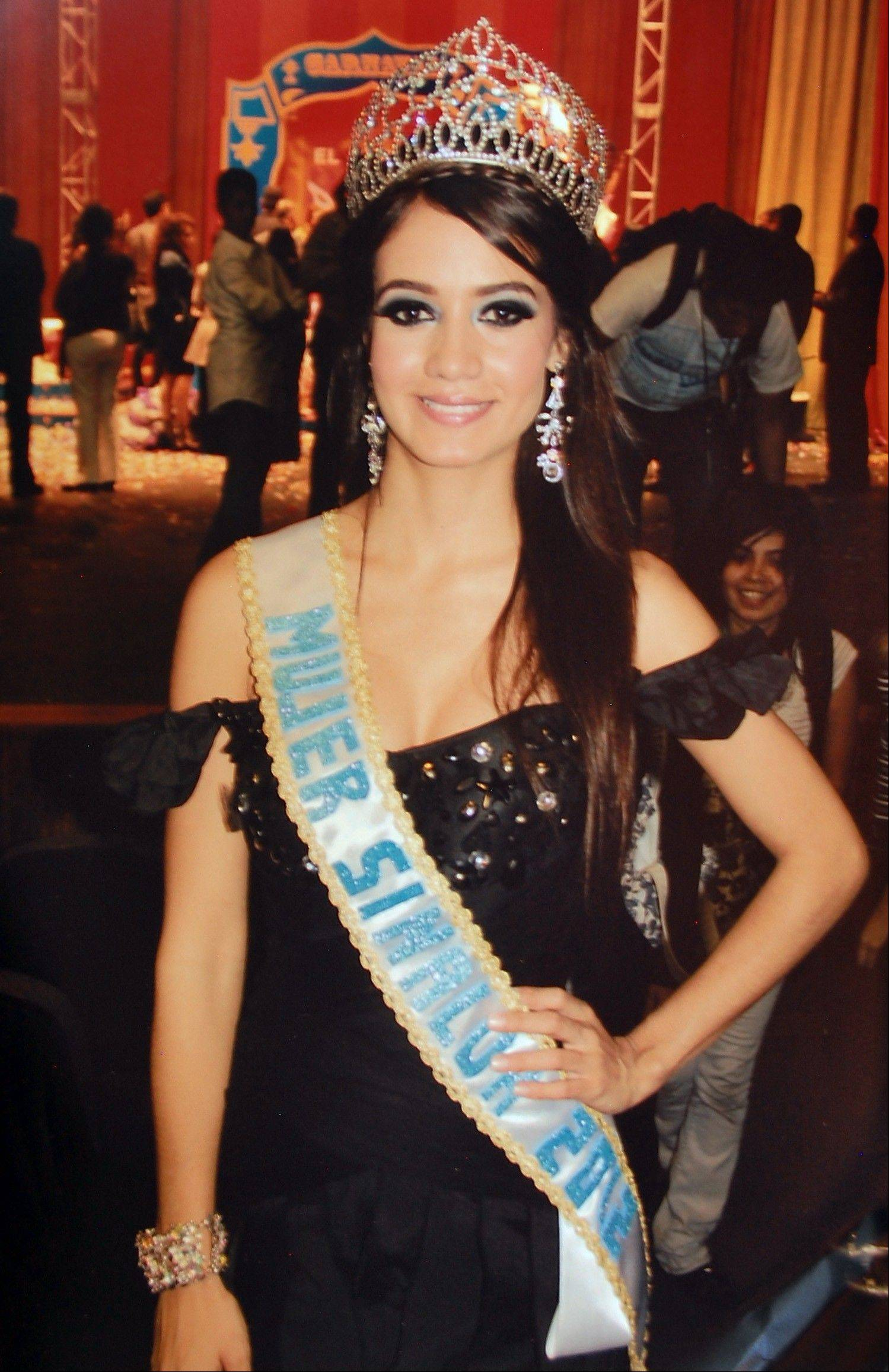 Associated Press/February 2012 Maria Susana Flores Gamez, after being crowned Sinaloa Woman 2012 in Culiacan, Mexico.