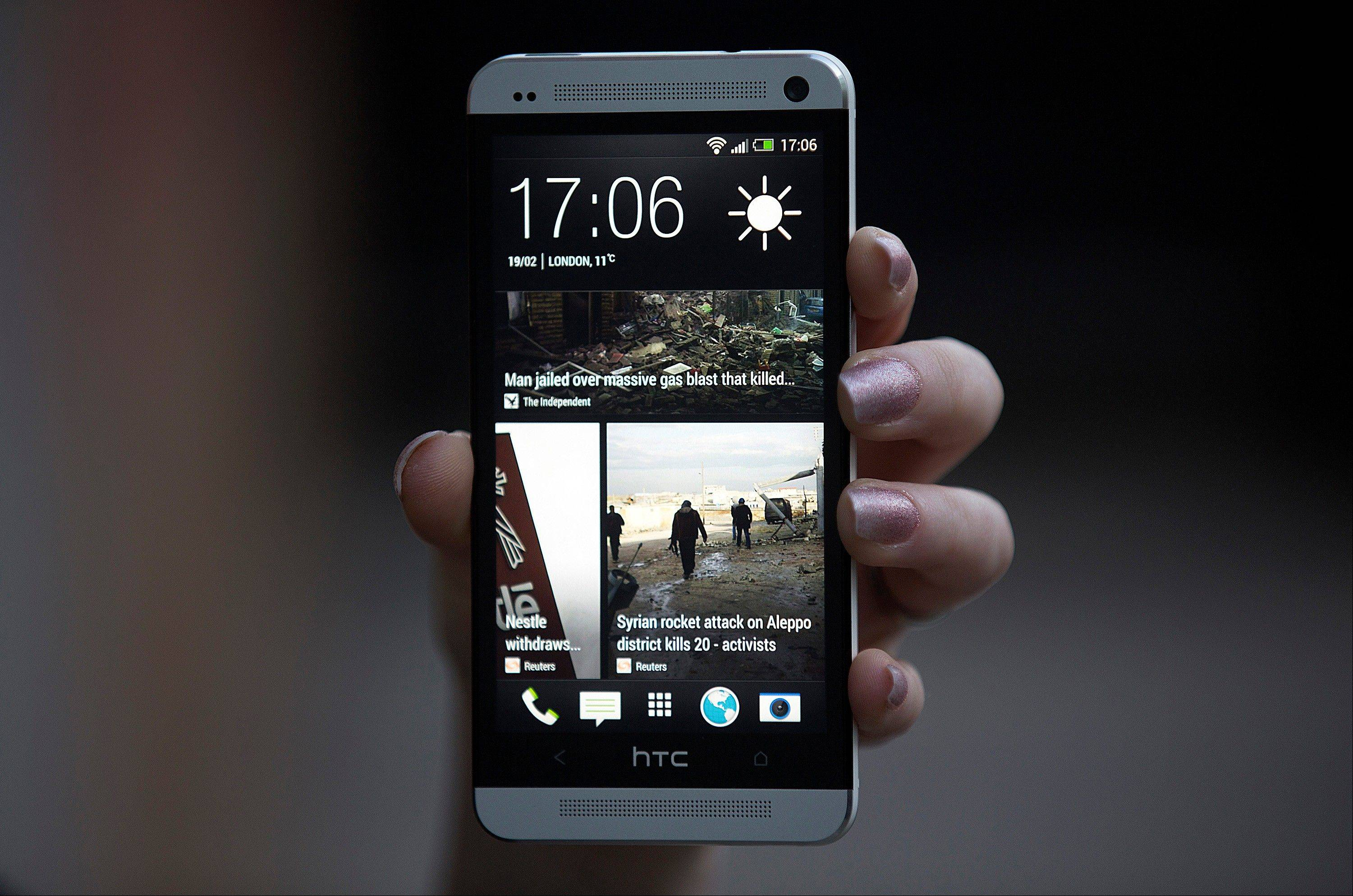 HTC Corp. introduced its new flagship HTC One smartphone at a launch event in London Tuesday.