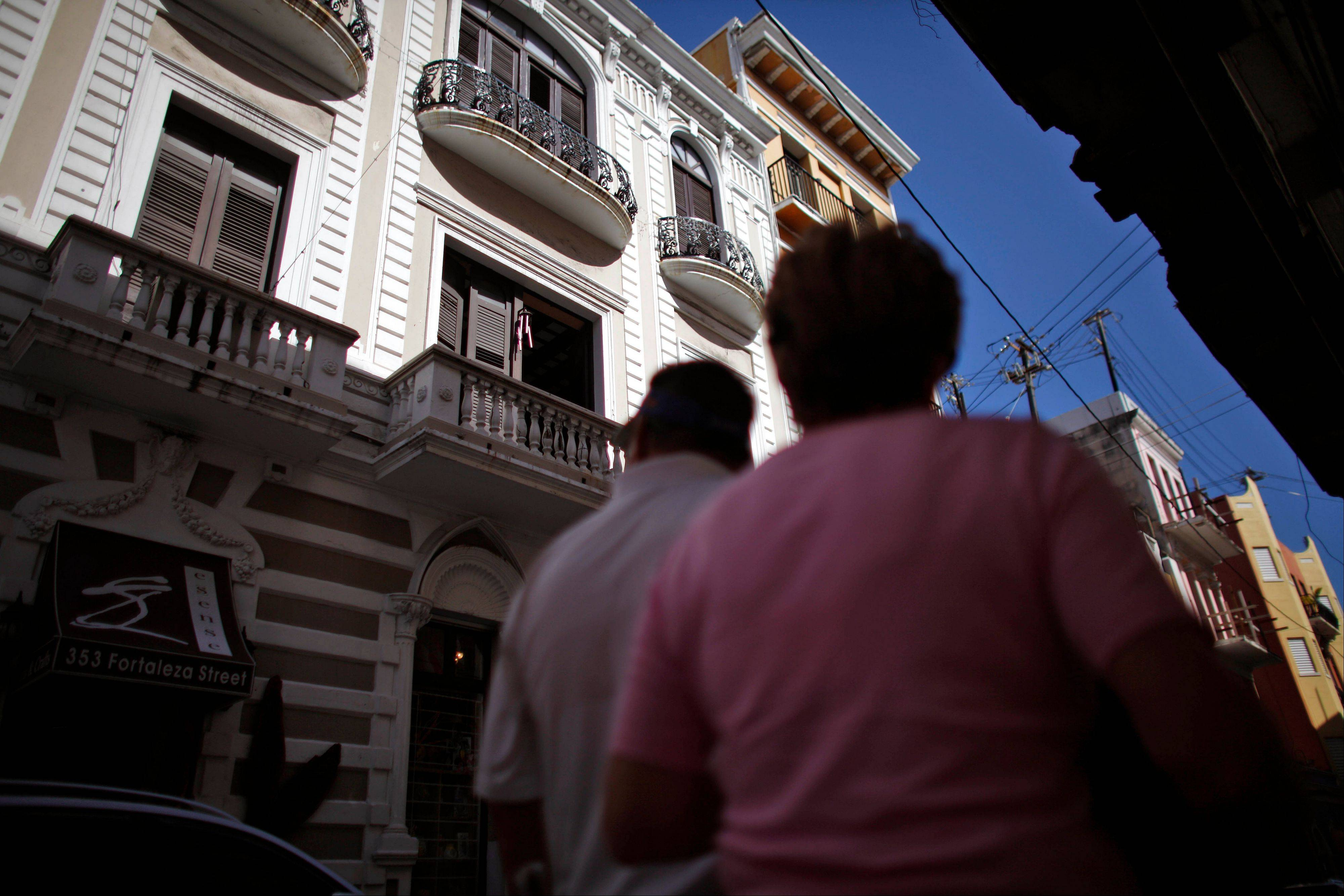 New stores, restaurants and coffee shops have opened and many of the old homes have been restored in Old San Juan.