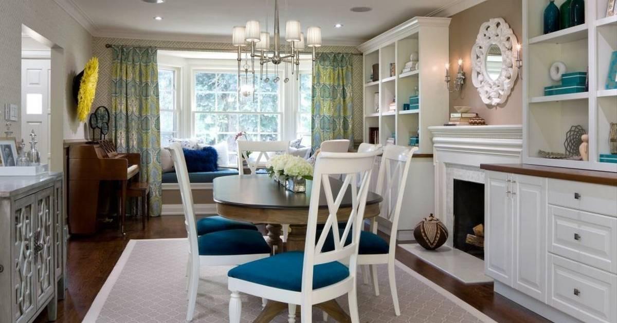 Dining Room Turned Into Multipurpose Masterpiece